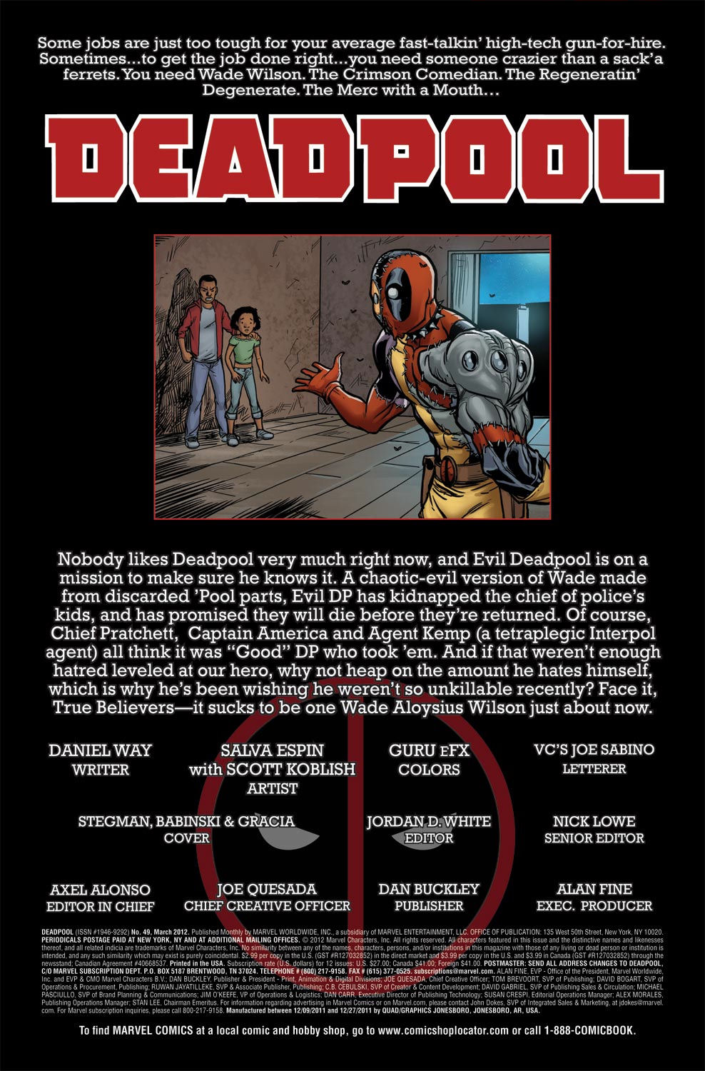 Read online Deadpool (2008) comic -  Issue #49 - 2