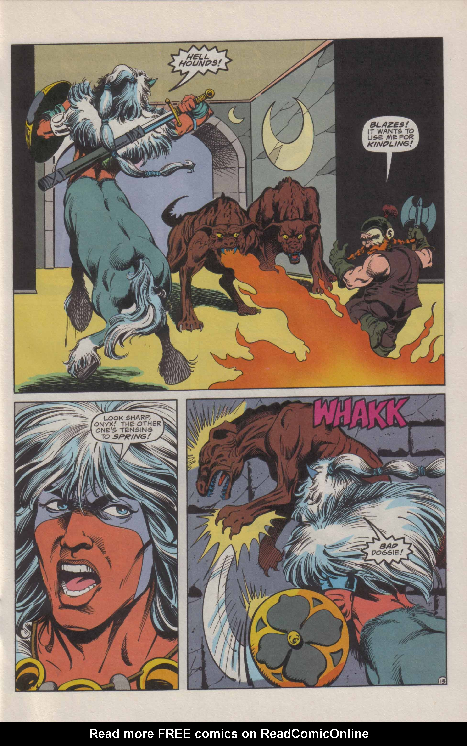 Read online Advanced Dungeons & Dragons comic -  Issue #21 - 14