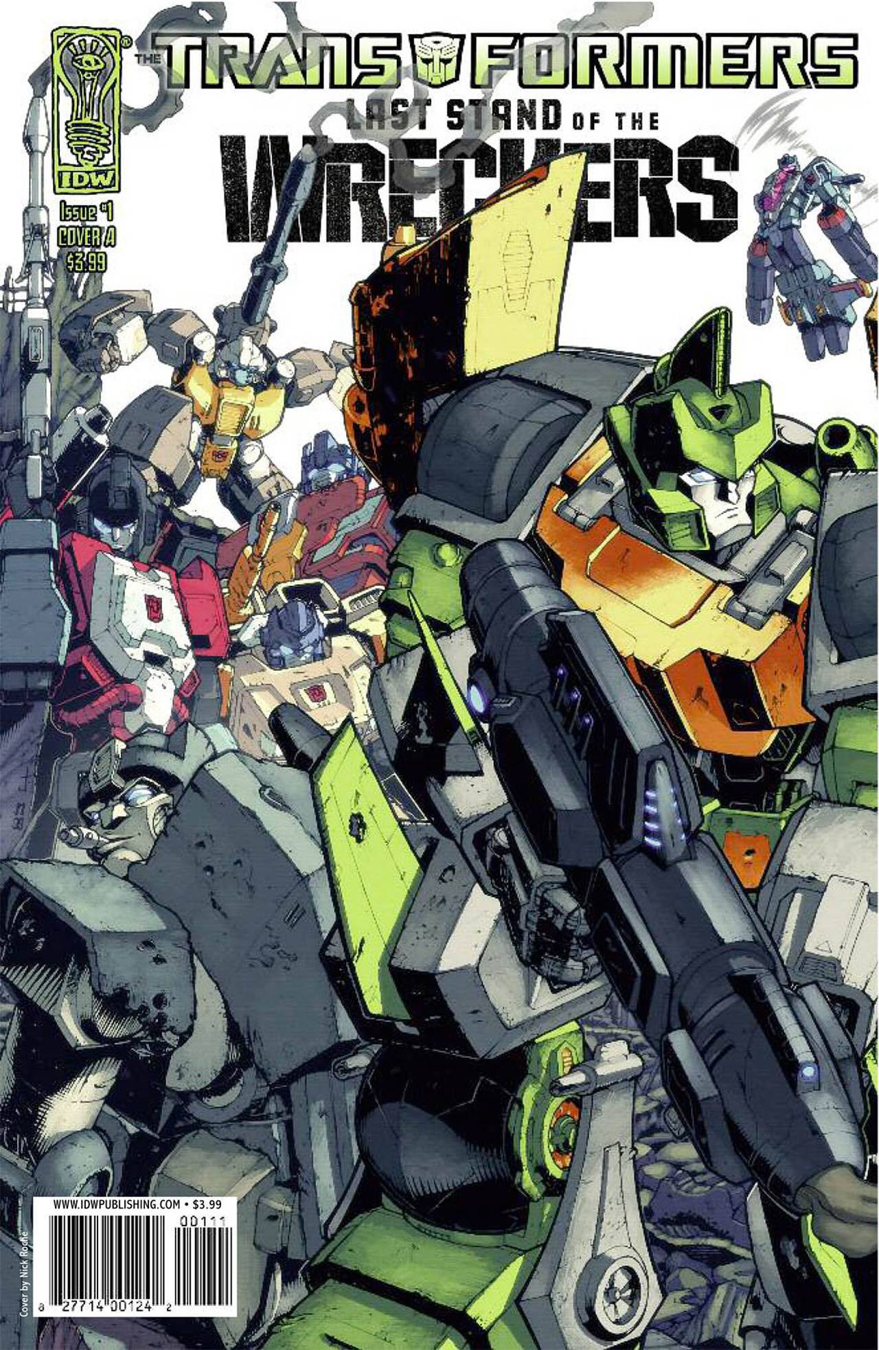 Read online Transformers: Last Stand of The Wreckers comic -  Issue #1 - 1
