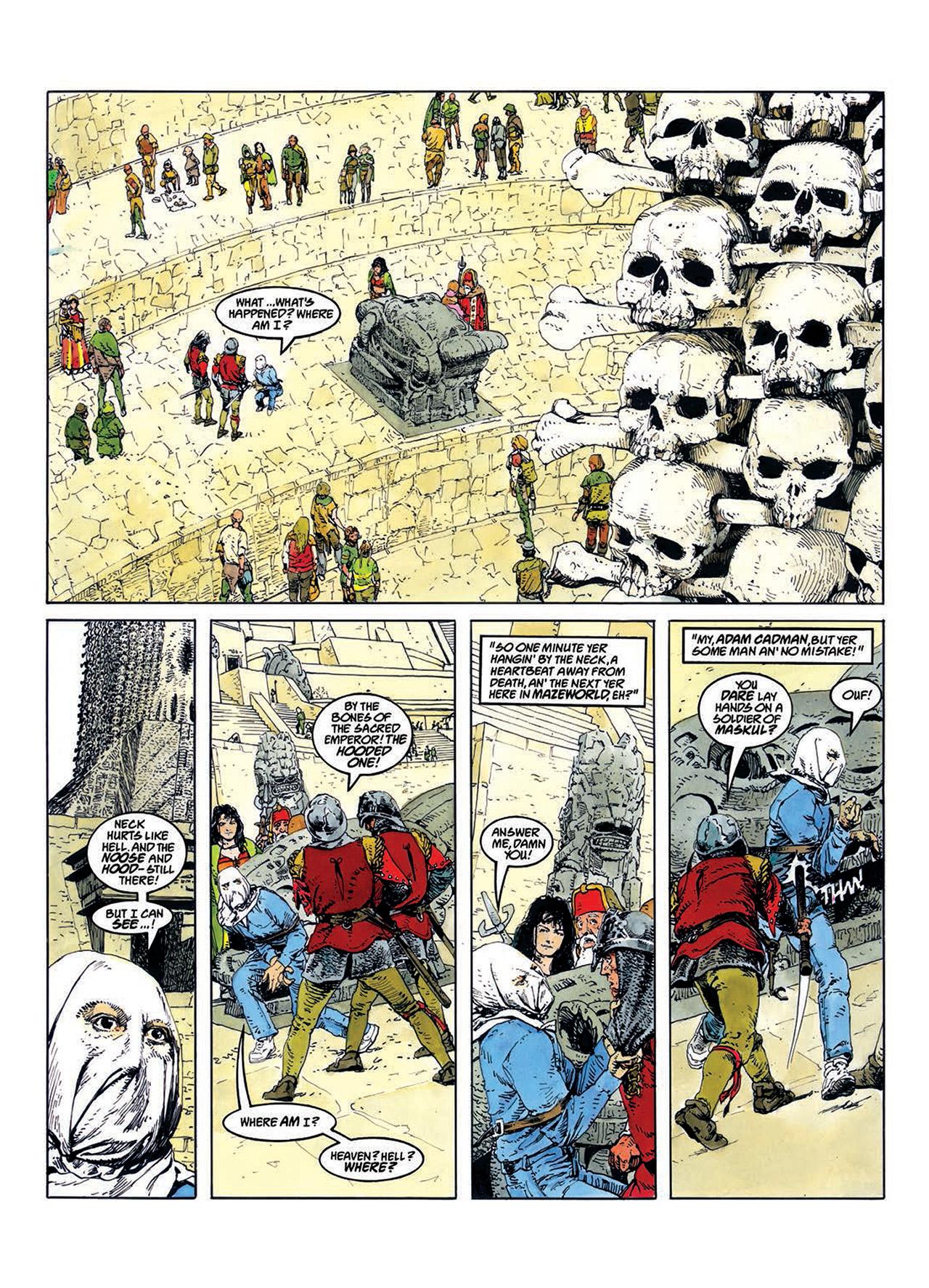 Read online Mazeworld comic -  Issue # TPB - 11