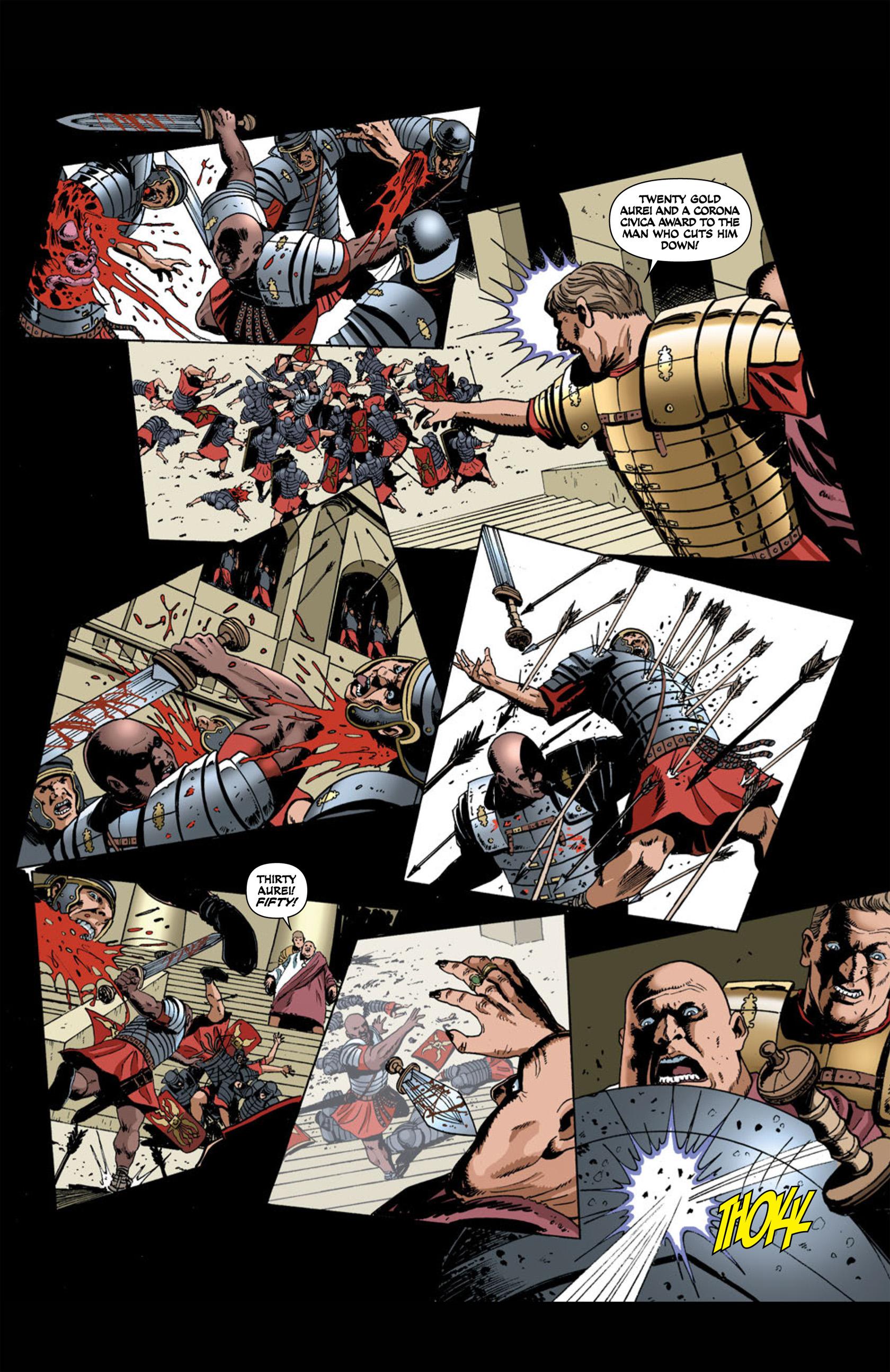 Read online Aquila comic -  Issue #1 - 33