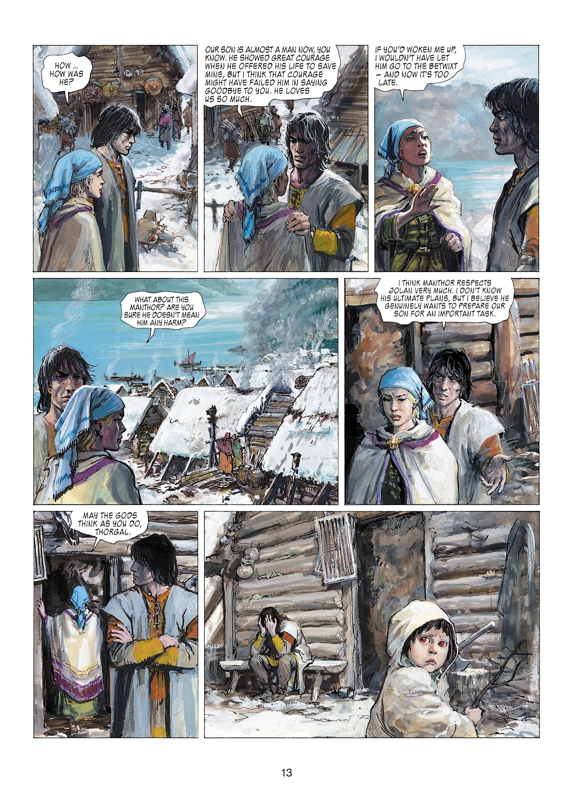 Read online Thorgal comic -  Issue #22 - 15