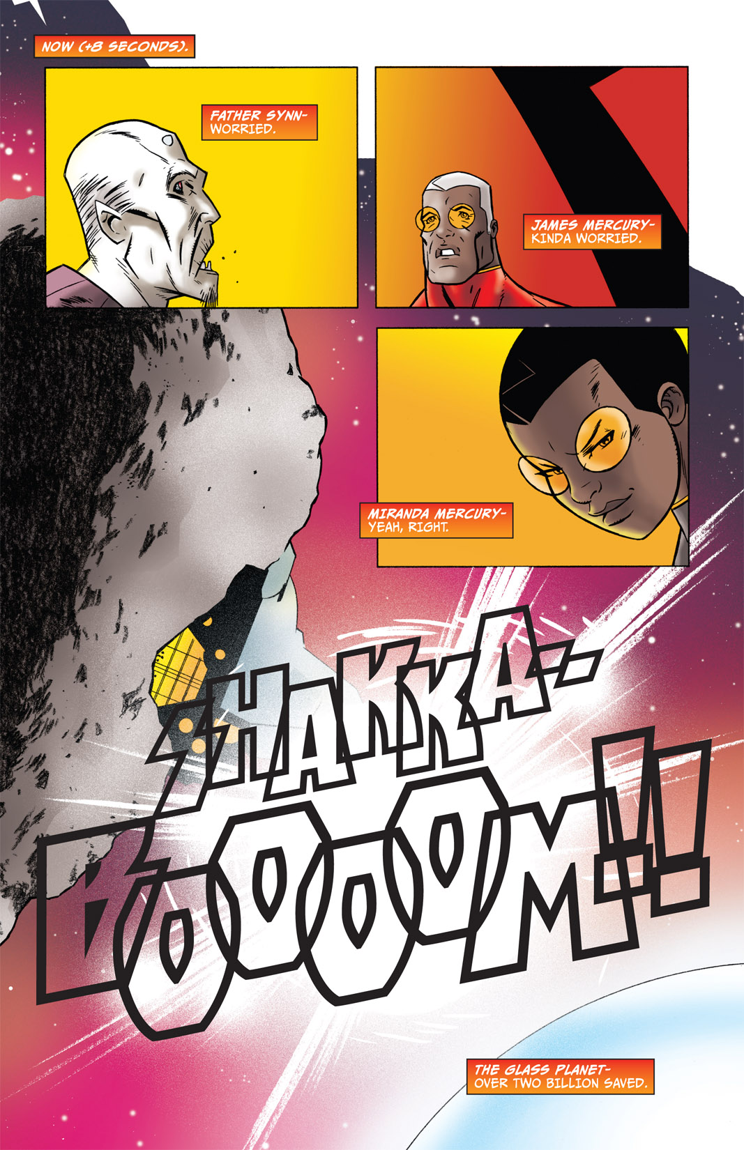 Read online The Many Adventures of Miranda Mercury: Time Runs Out comic -  Issue # TPB - 7