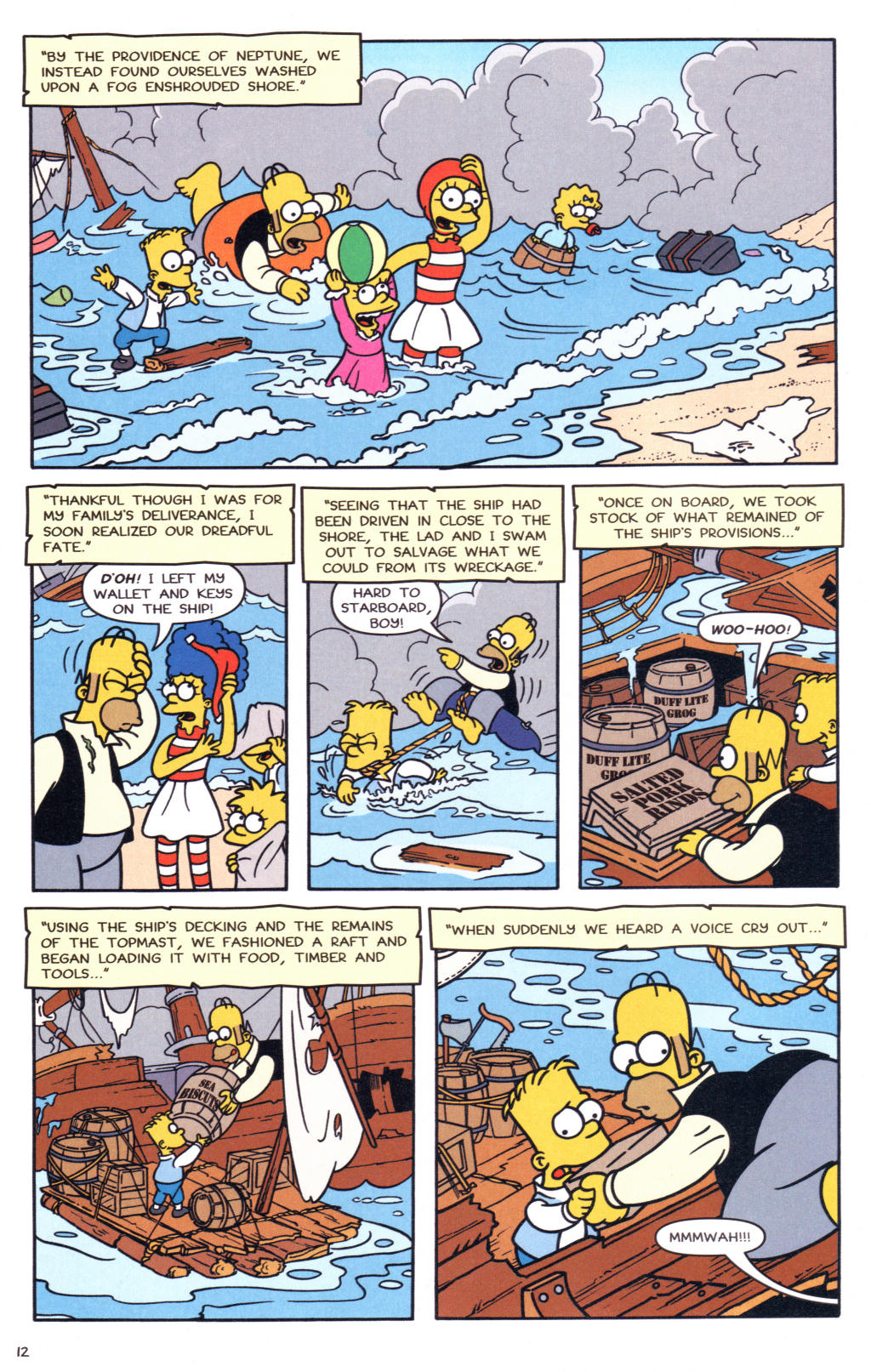 Read online Simpsons Comics comic -  Issue #127 - 11