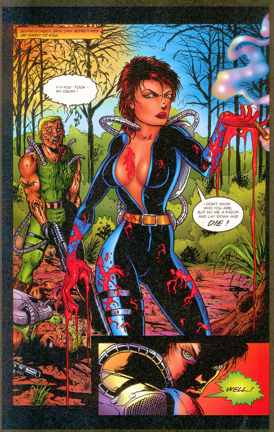 Read online Sisters of Mercy comic -  Issue #1 - 8