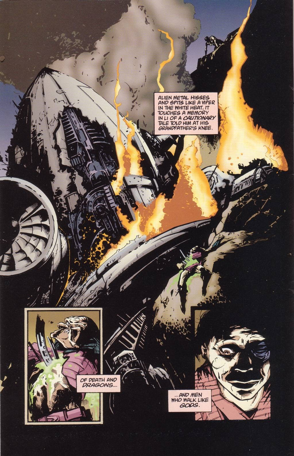 Aliens vs. Predator: Eternal issue 1 - Page 6