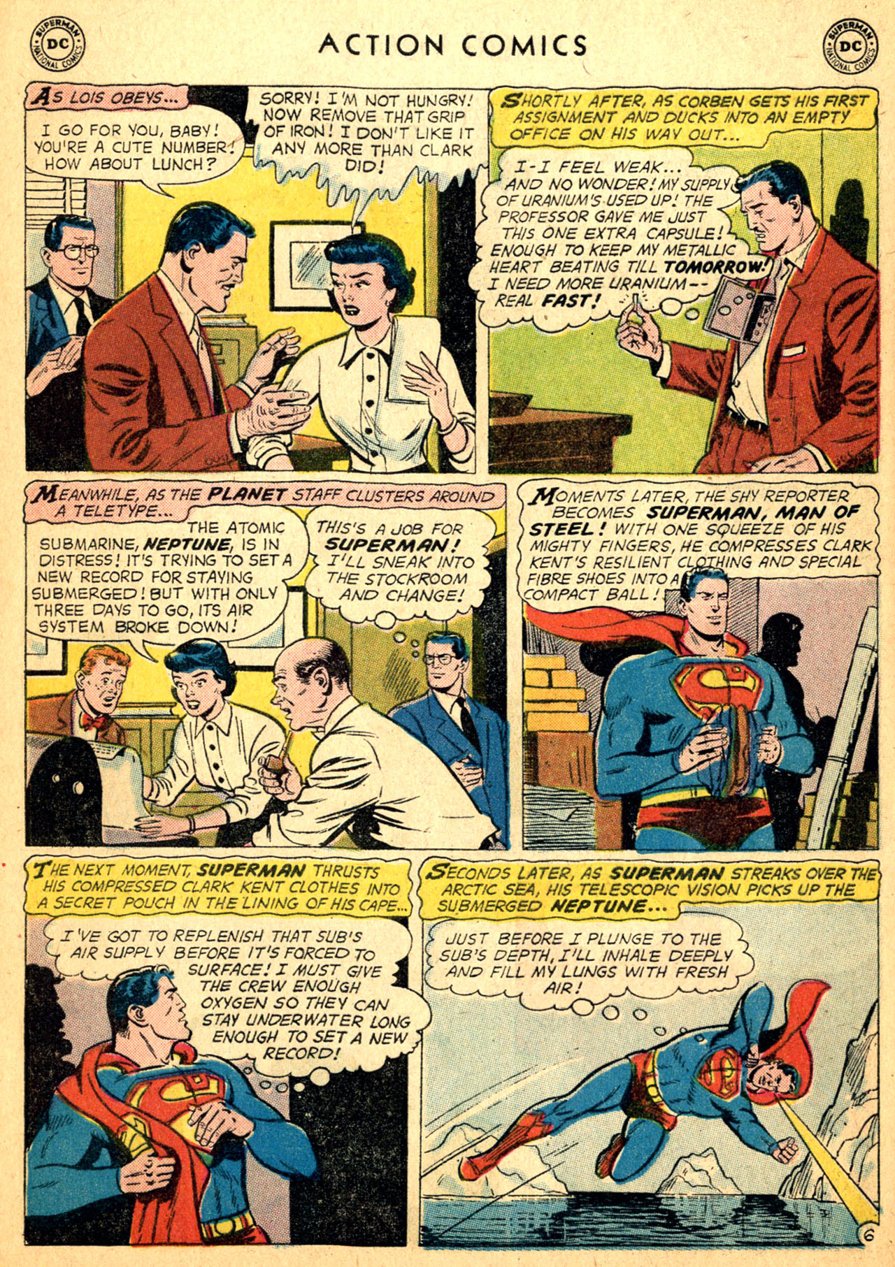 Read online Action Comics (1938) comic -  Issue #252 - 8
