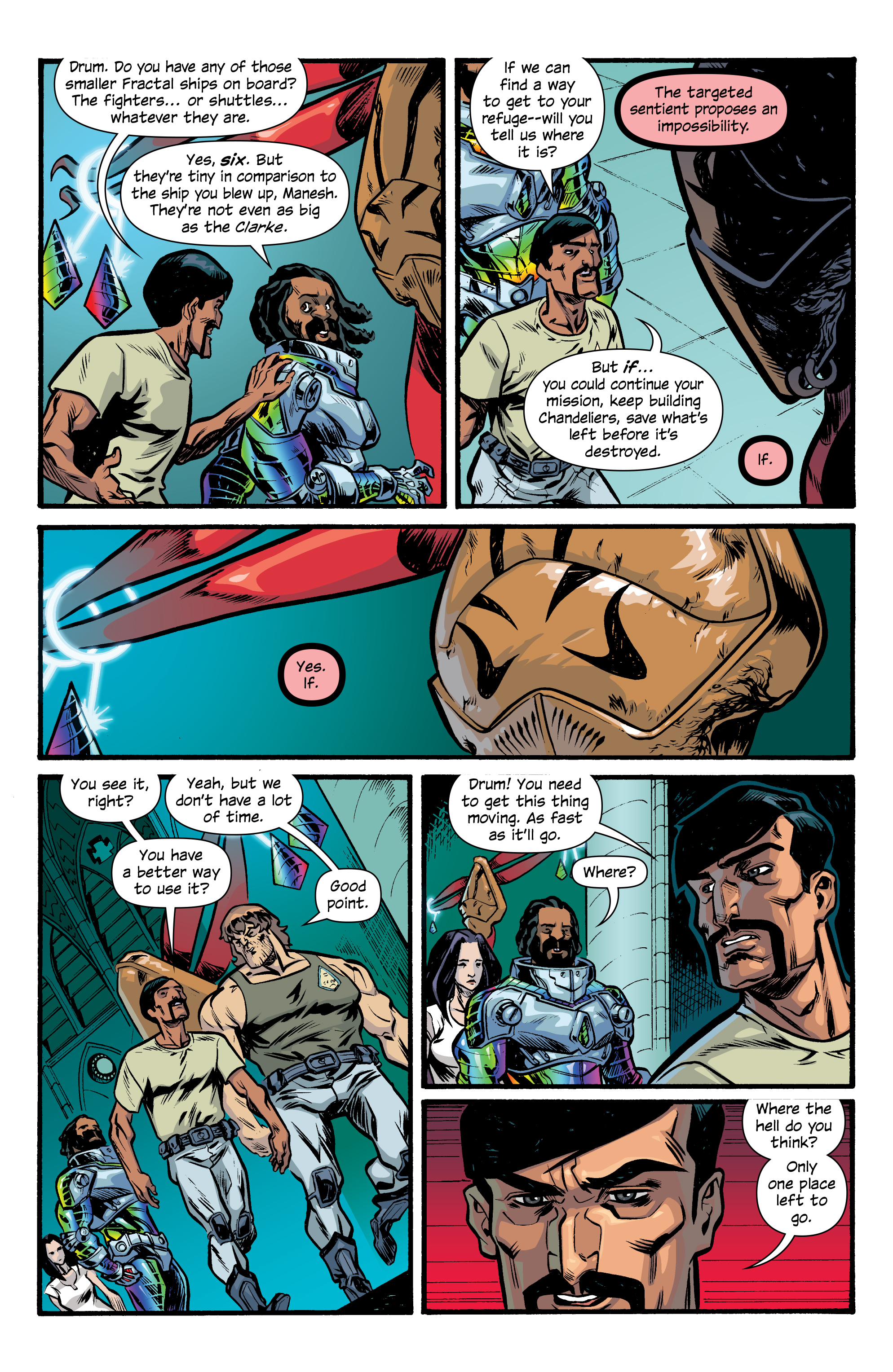 Read online Letter 44 comic -  Issue #33 - 12