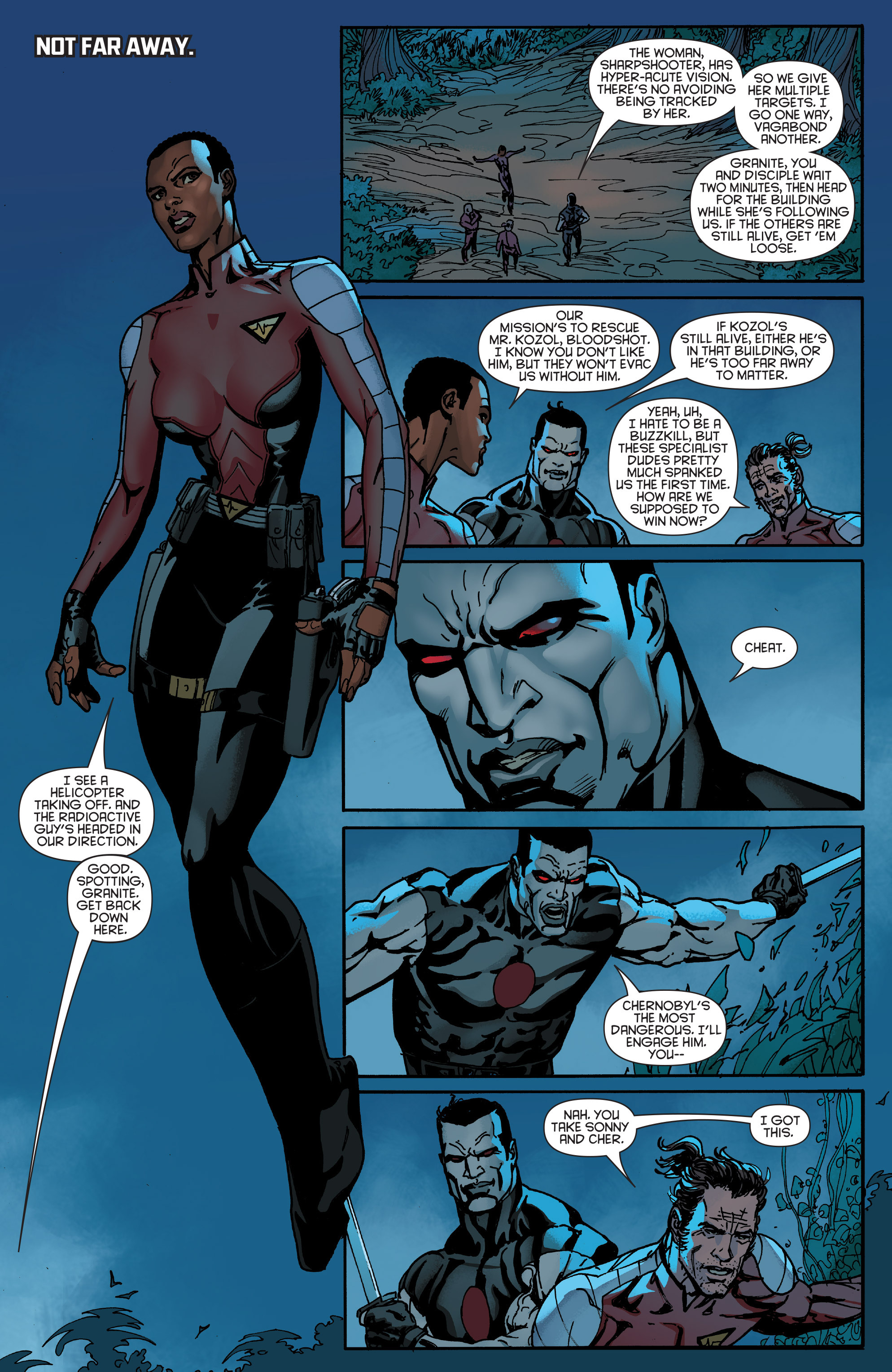 Read online Bloodshot and H.A.R.D.Corps comic -  Issue #19 - 5