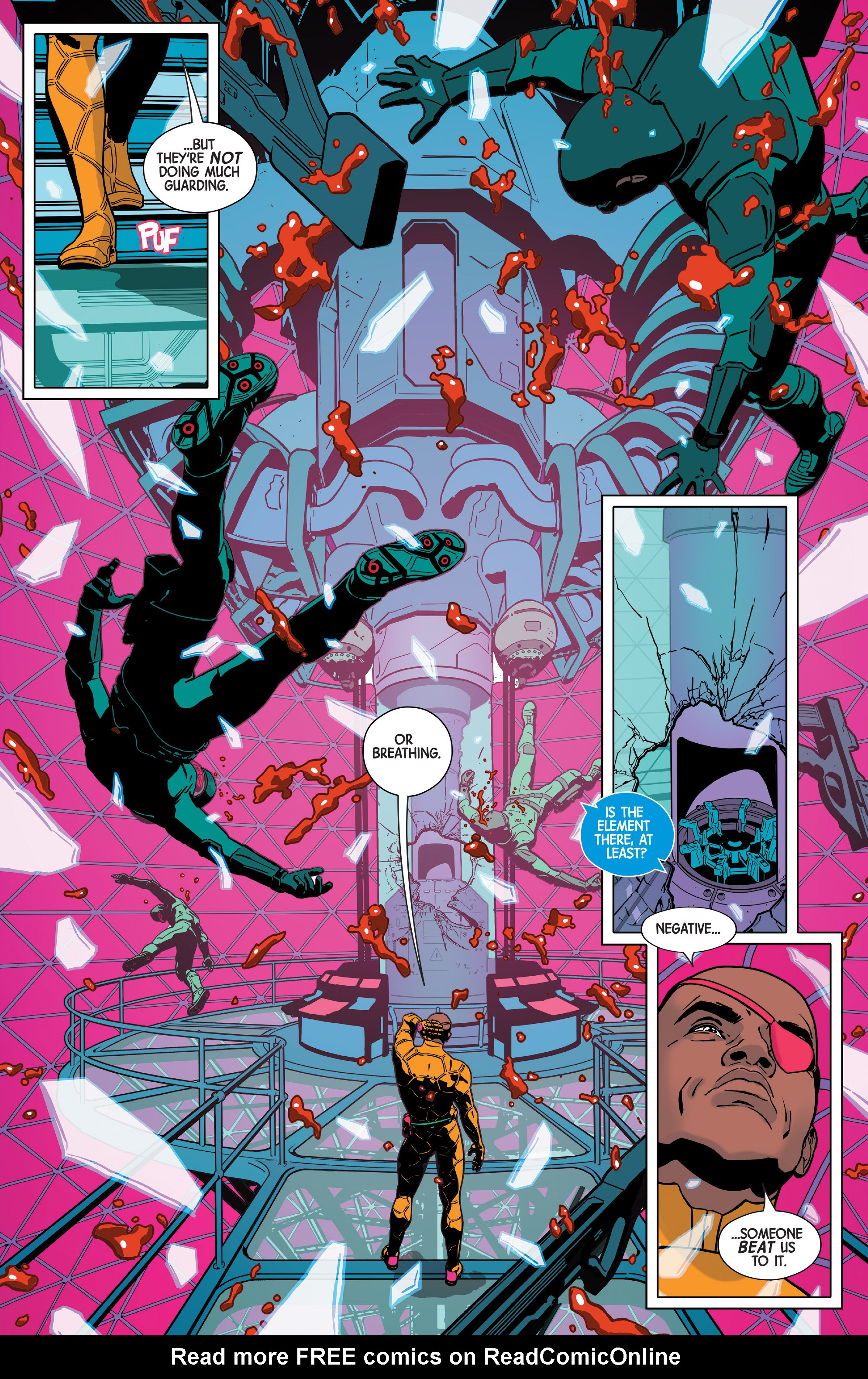 Read online Nick Fury comic -  Issue #2 - 12