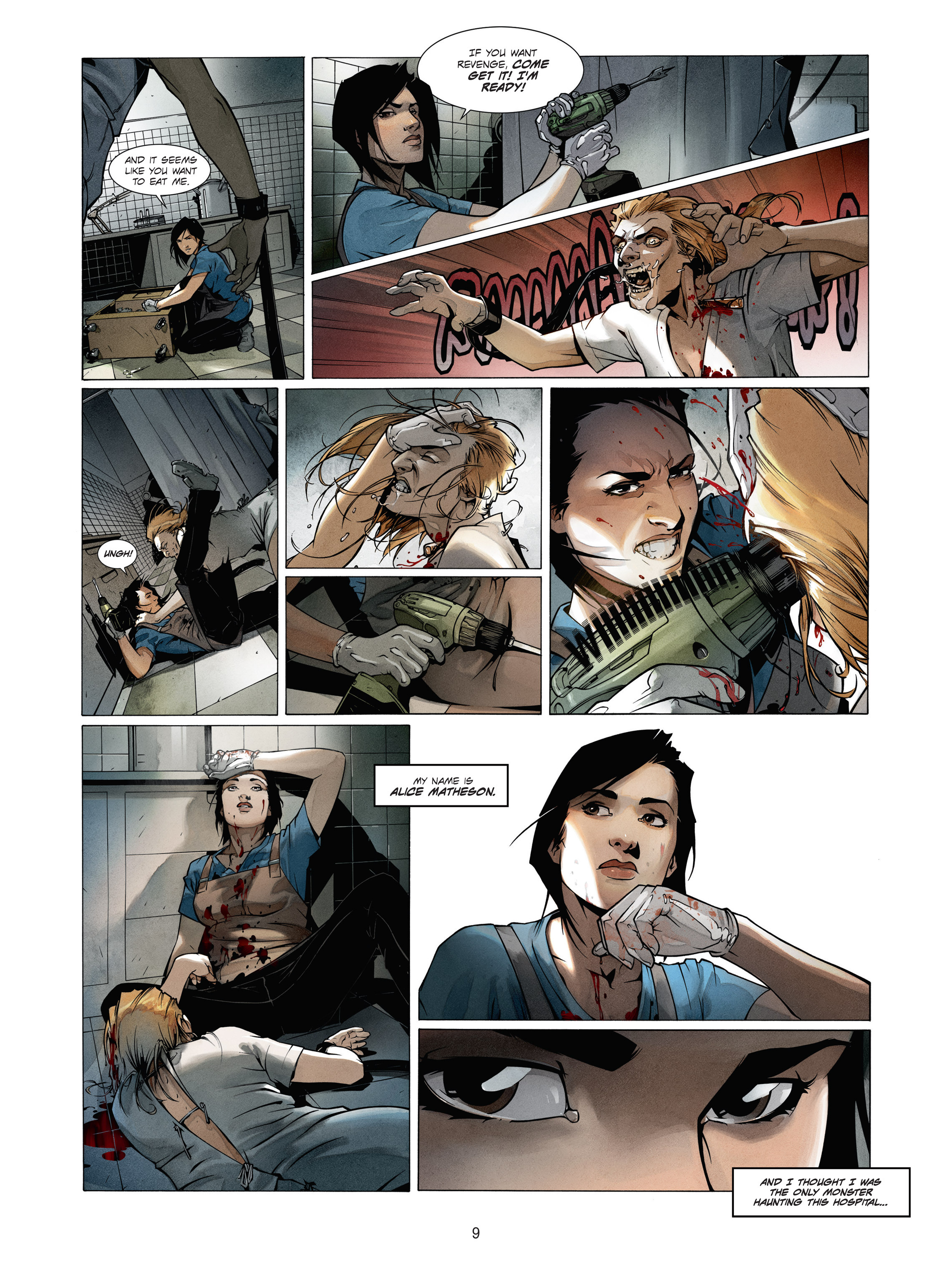 Read online Alice Matheson comic -  Issue #1 - 9