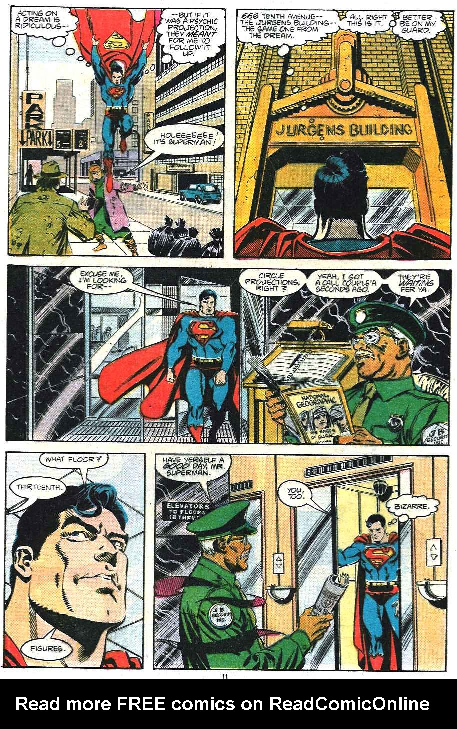 Read online Adventures of Superman (1987) comic -  Issue #435 - 12