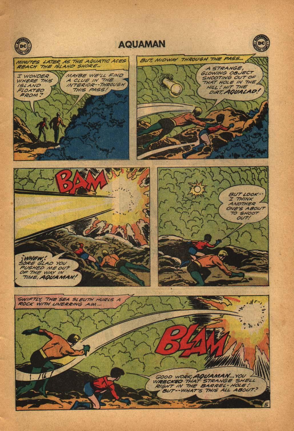 Read online Aquaman (1962) comic -  Issue #4 - 7
