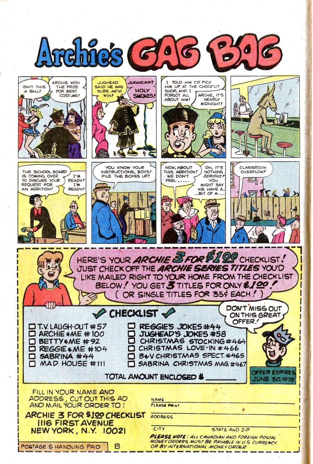 Read online Archie (1960) comic -  Issue #269 - 10