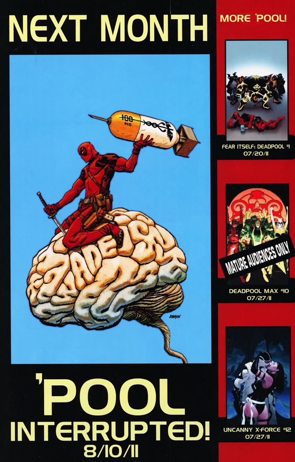 Read online Deadpool (2008) comic -  Issue #40 - 23