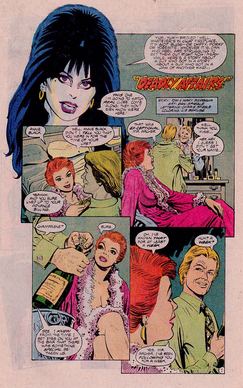 Elvira's House of Mystery Issue #11 #12 - English 16
