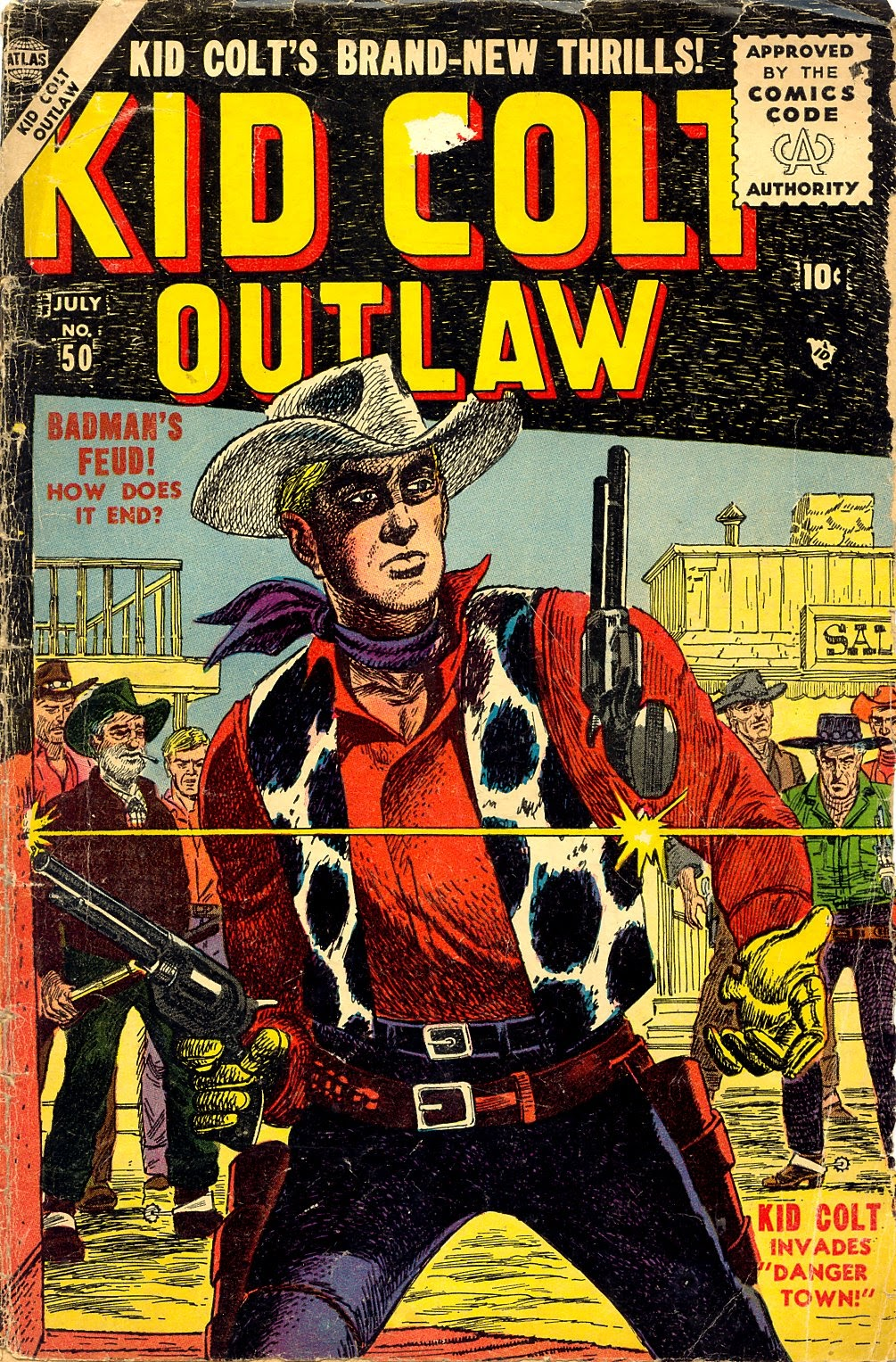 Kid Colt Outlaw issue 50 - Page 1