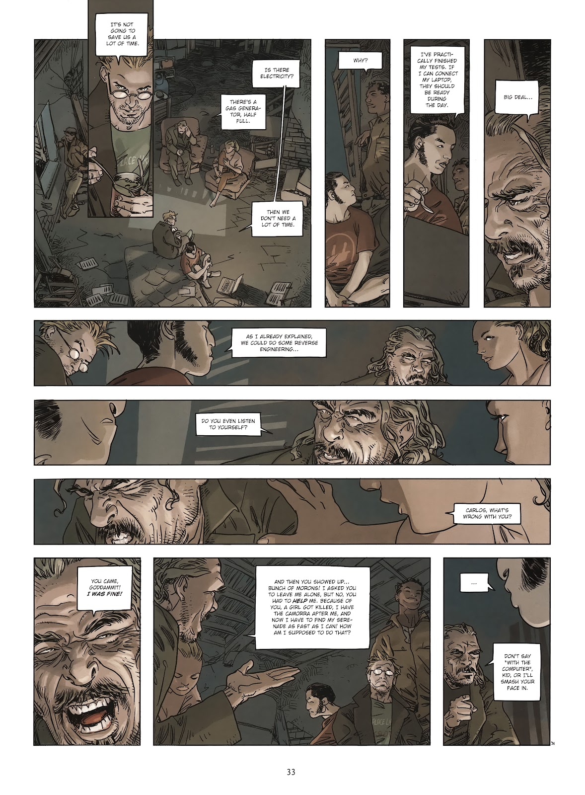 Read online Cutting Edge (2013) comic -  Issue #2 - 32