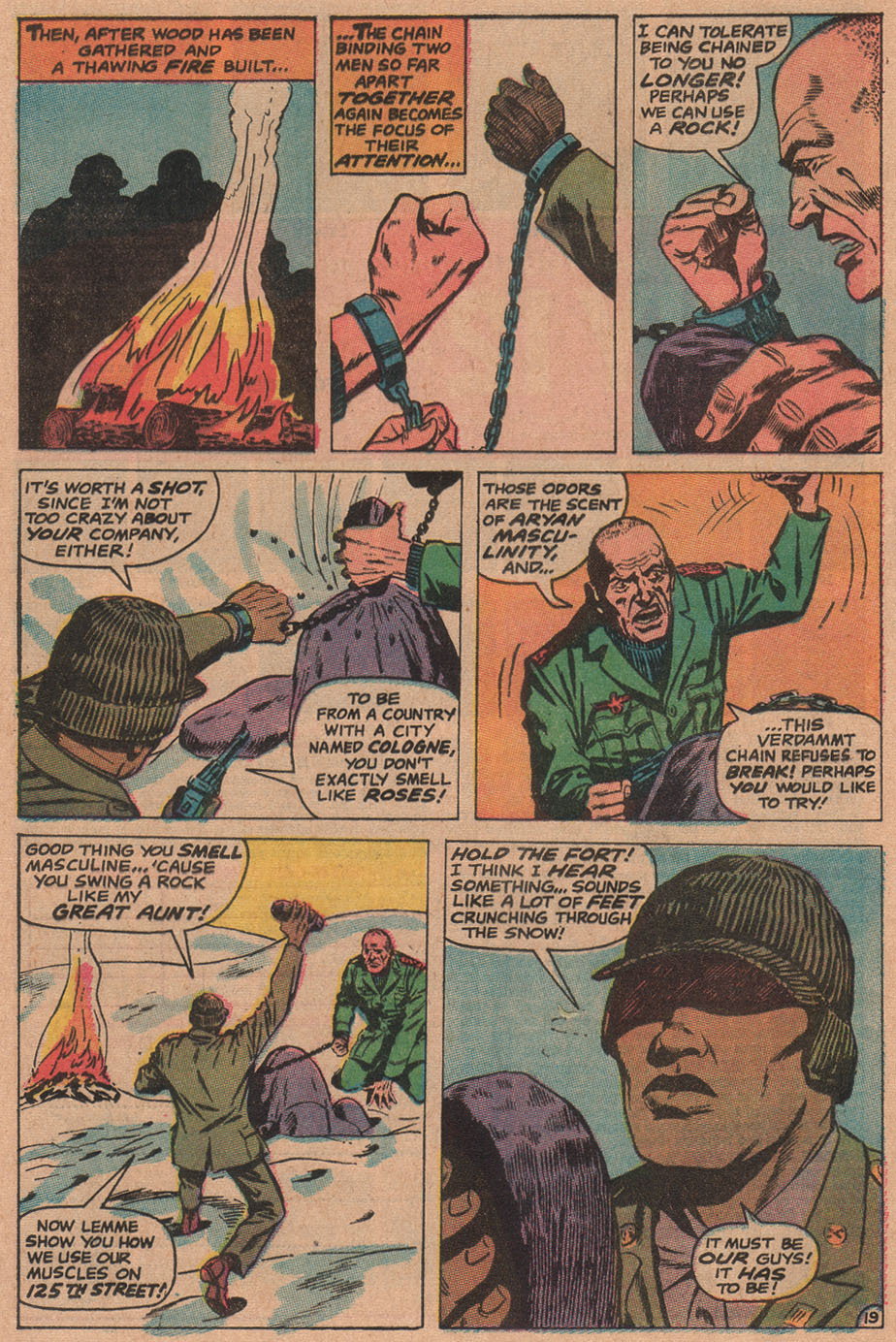 Read online Sgt. Fury comic -  Issue #90 - 28