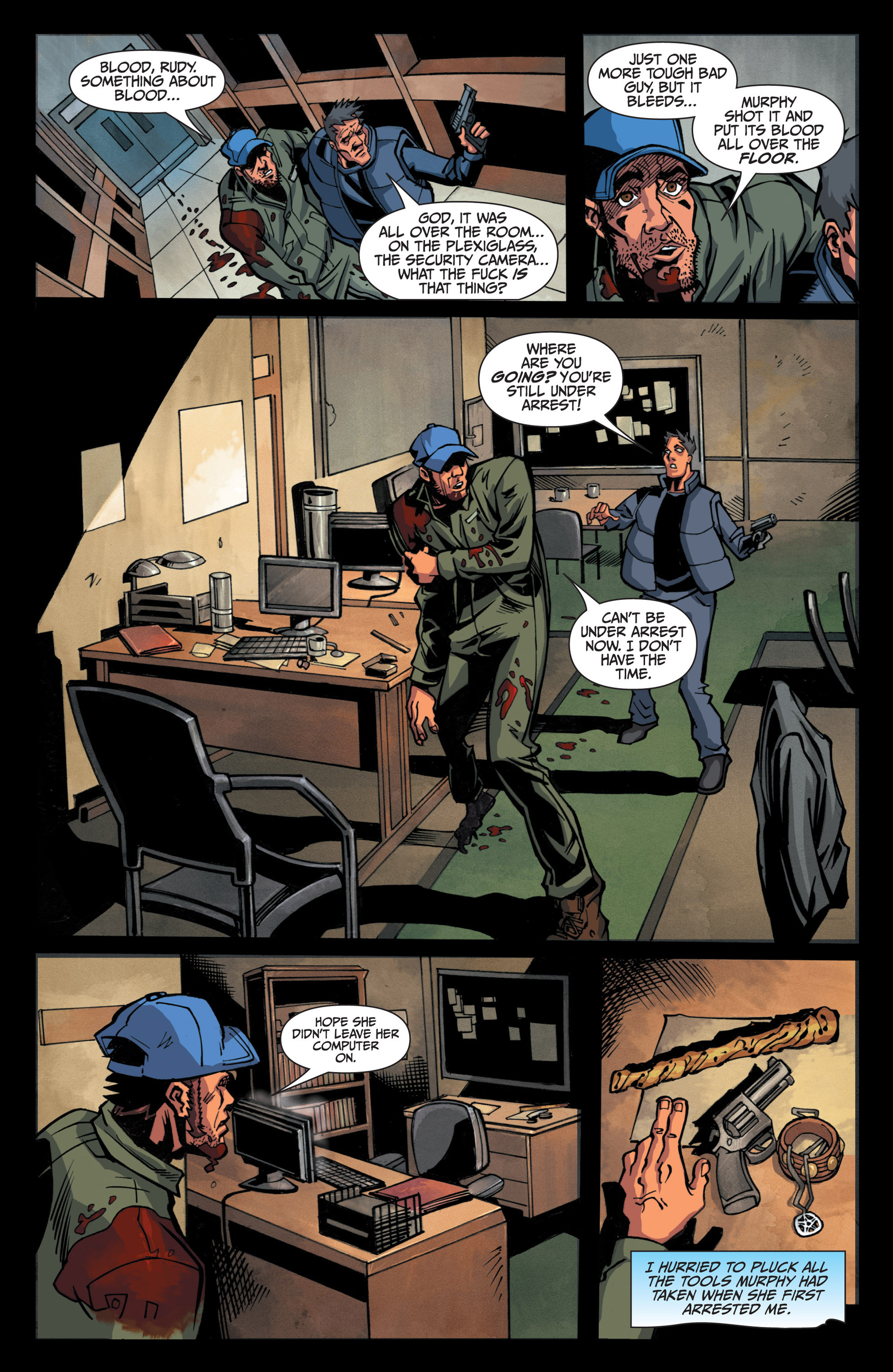 Read online Jim Butcher's The Dresden Files: Fool Moon comic -  Issue #5 - 19