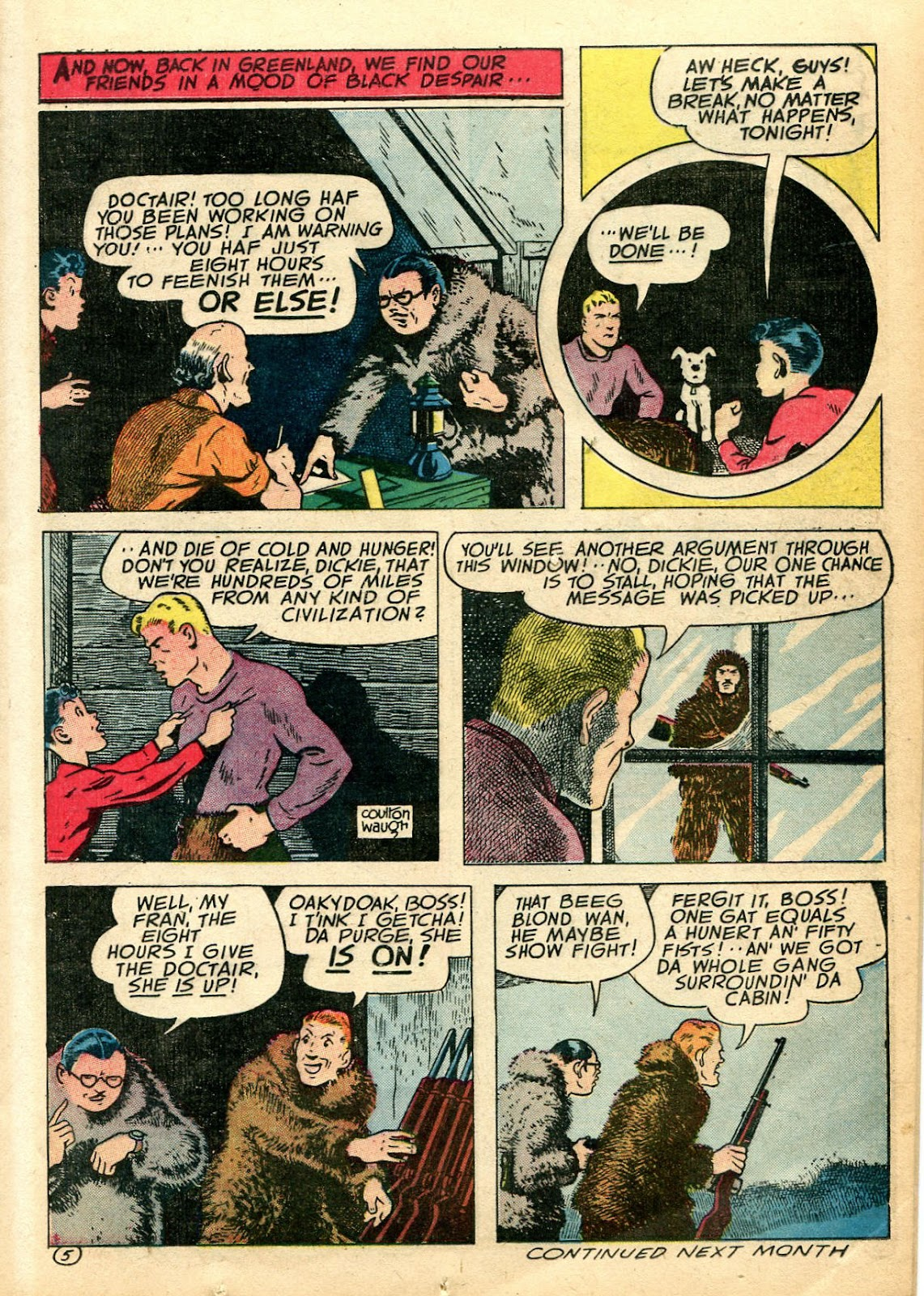 Read online Famous Funnies comic -  Issue #110 - 23