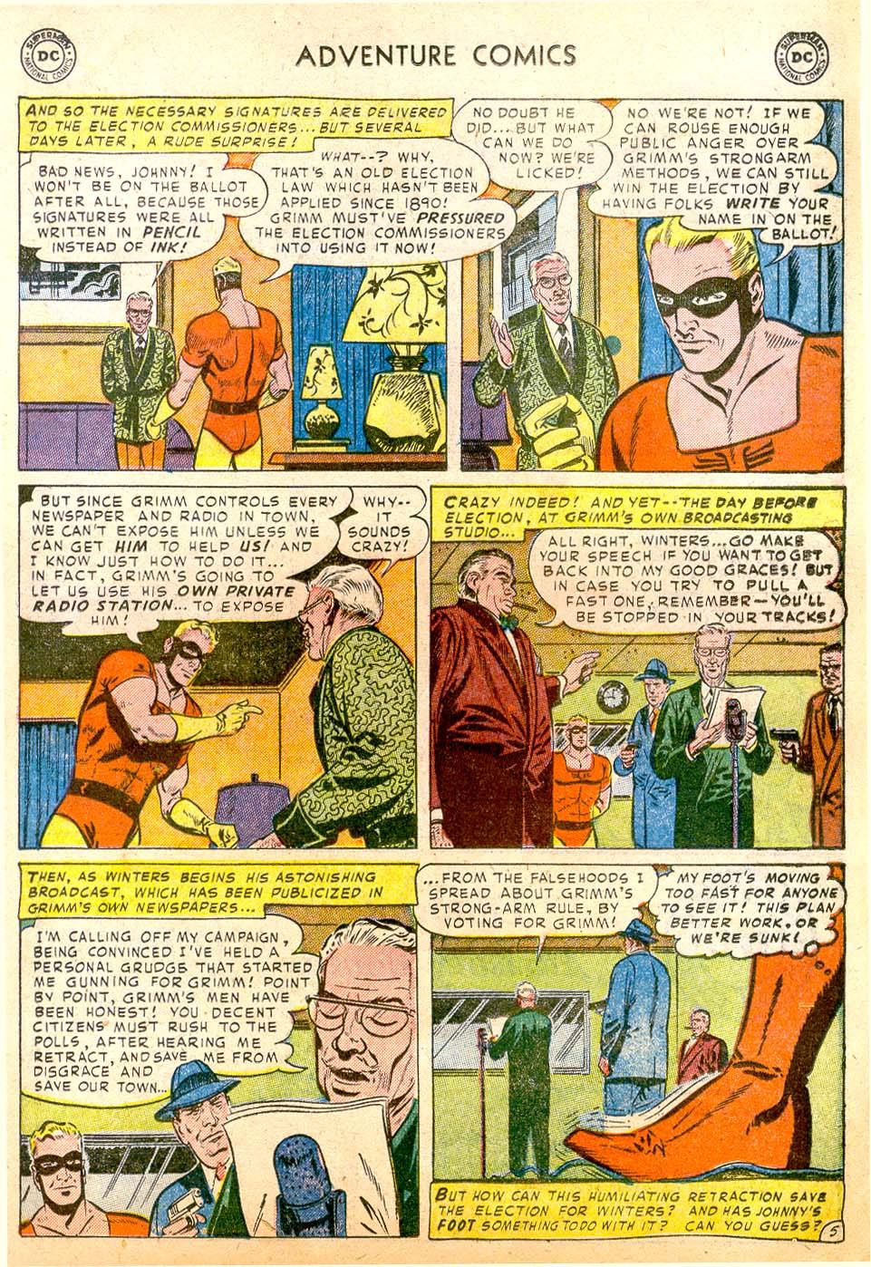 Read online Adventure Comics (1938) comic -  Issue #183 - 29