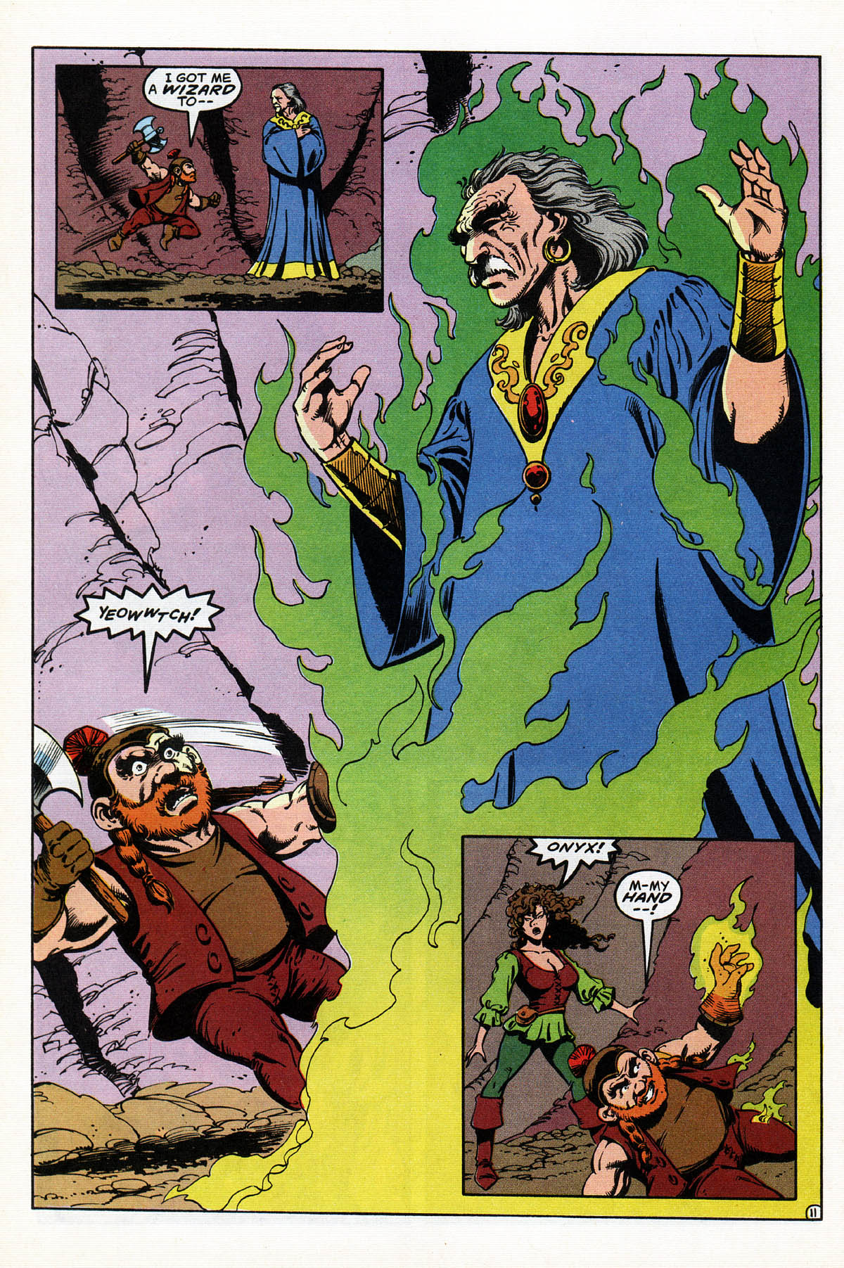 Read online Advanced Dungeons & Dragons comic -  Issue #17 - 13