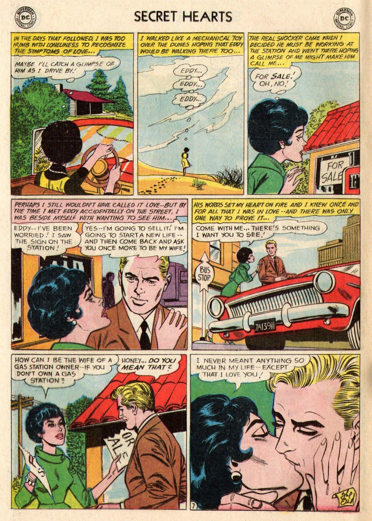 Read online Secret Hearts comic -  Issue #95 - 24