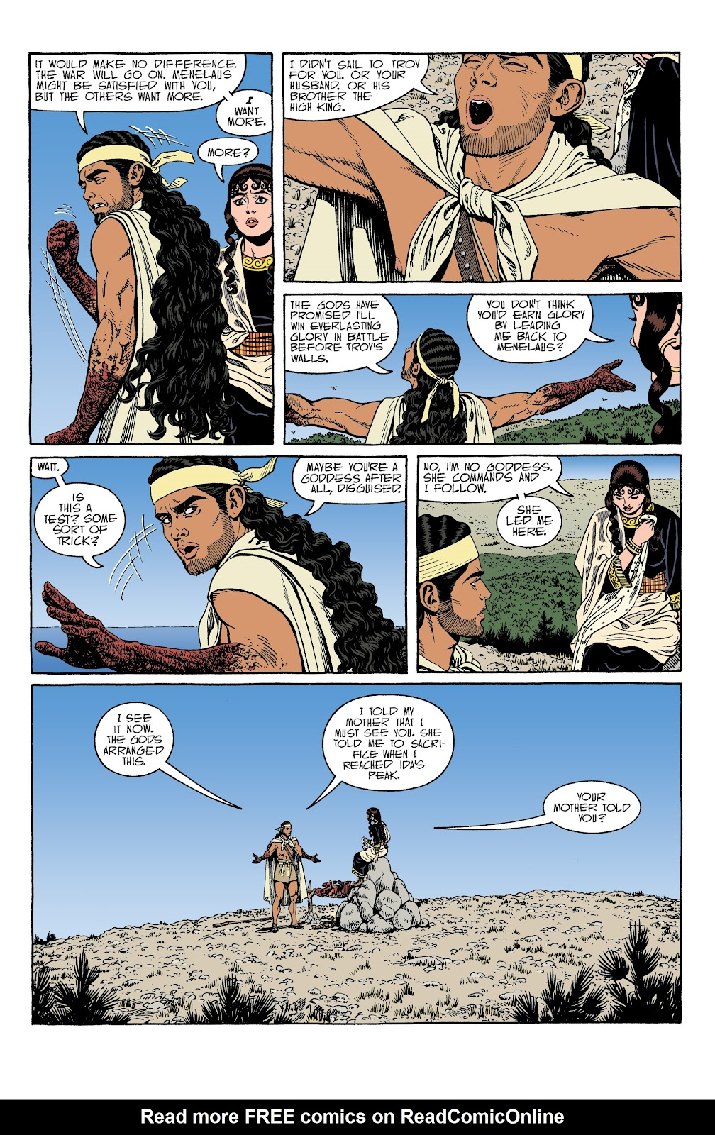 Read online Age of Bronze comic -  Issue #34 - 20