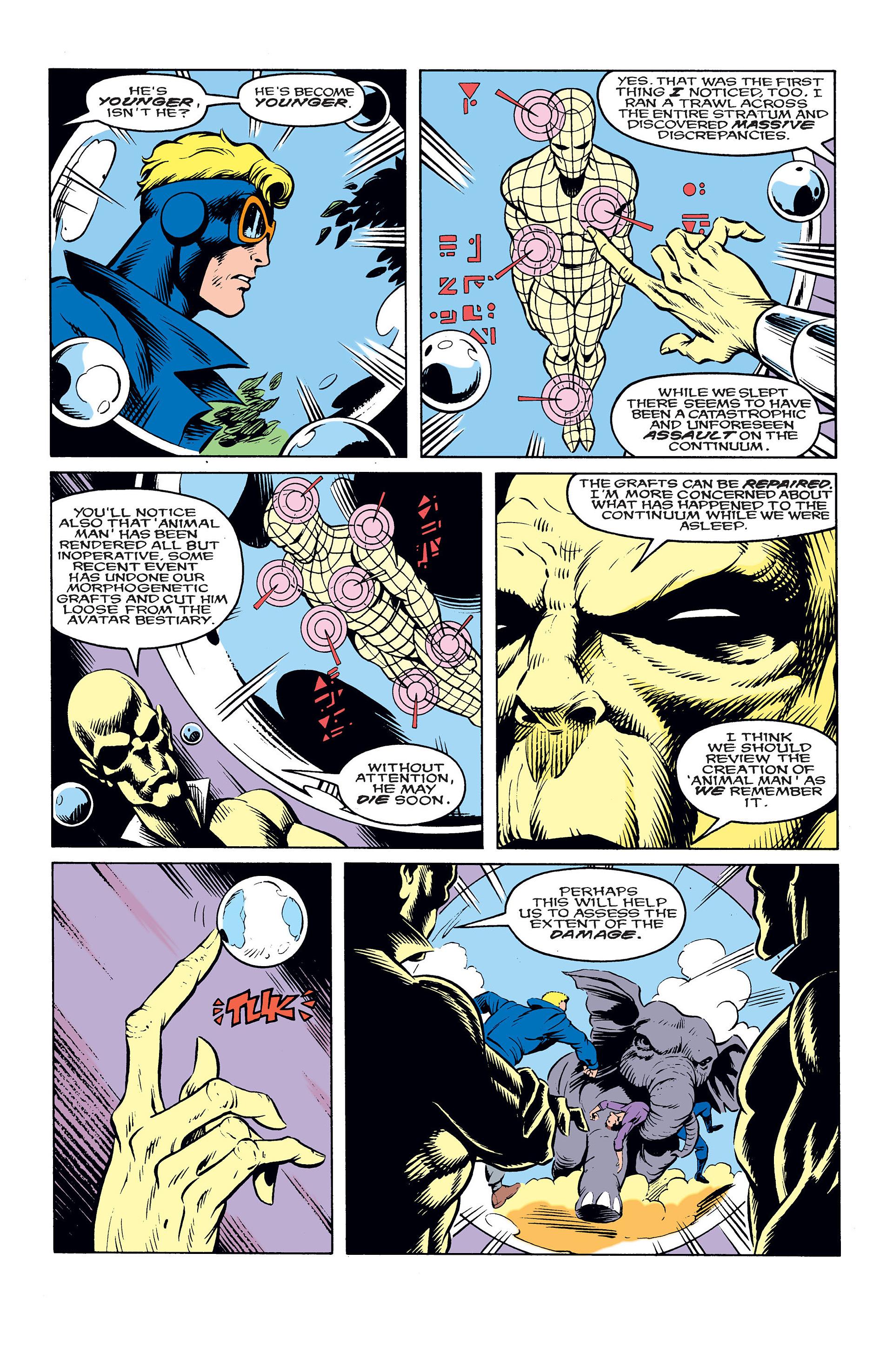 Read online Animal Man (1988) comic -  Issue #10 - 8