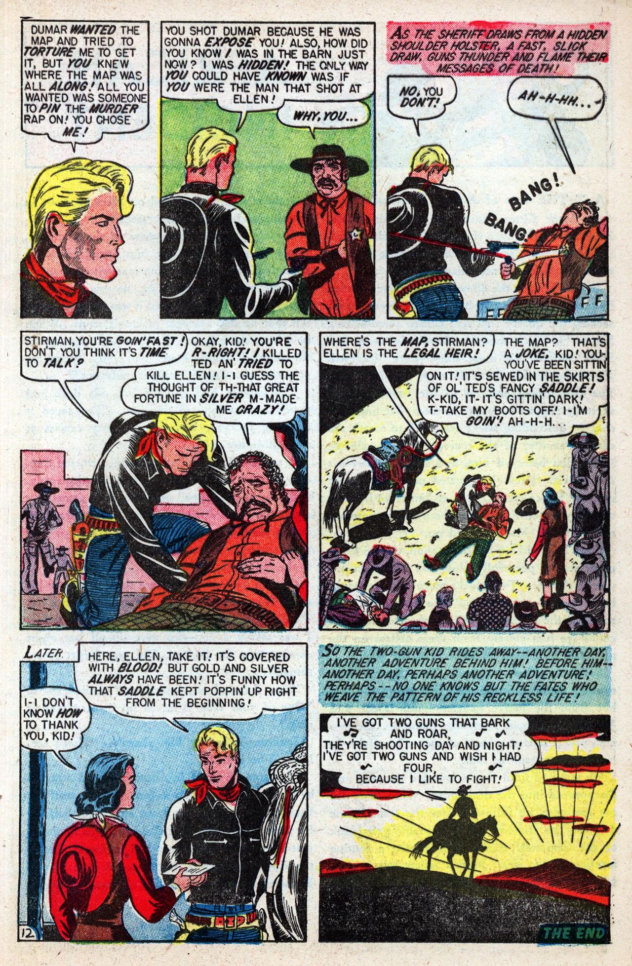 Read online Two-Gun Kid comic -  Issue #4 - 25