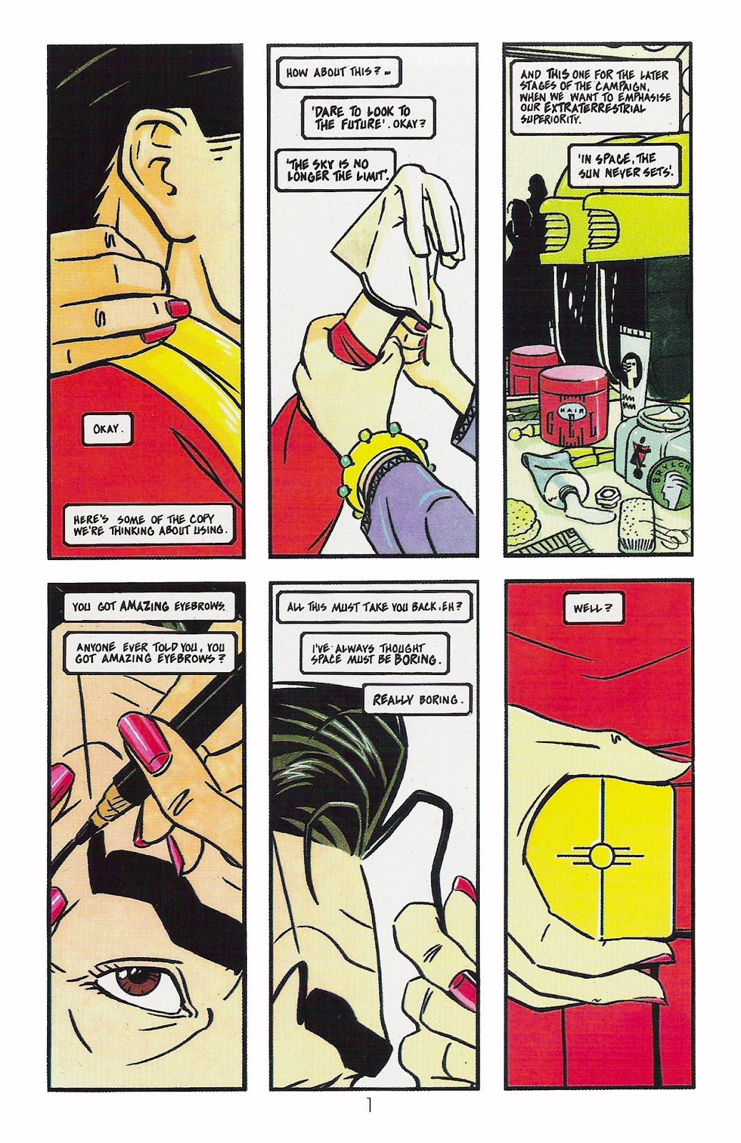 Read online Dare comic -  Issue #2 - 2