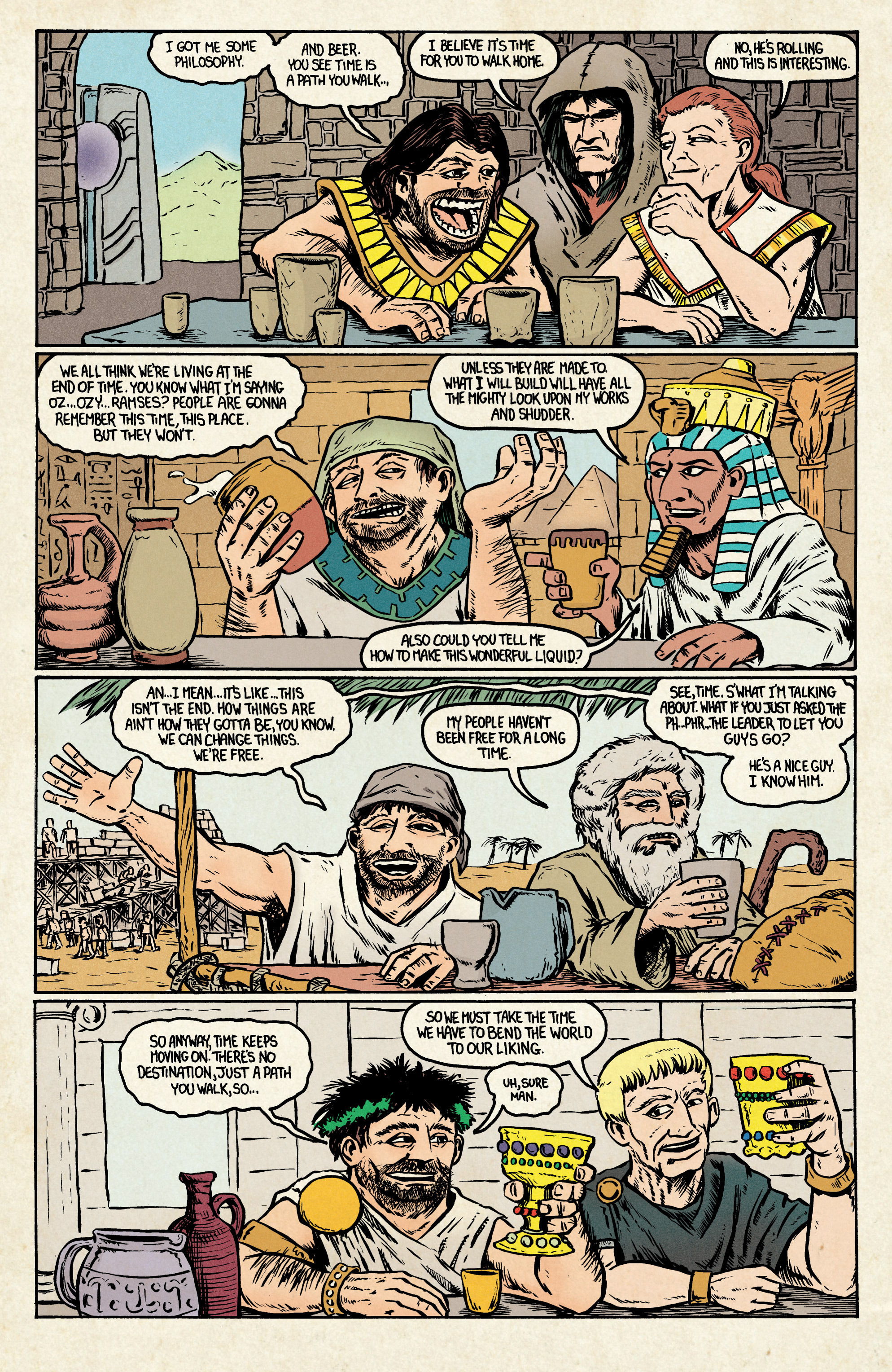 Read online Archer and Armstrong comic -  Issue #Archer and Armstrong _TPB 7 - 48