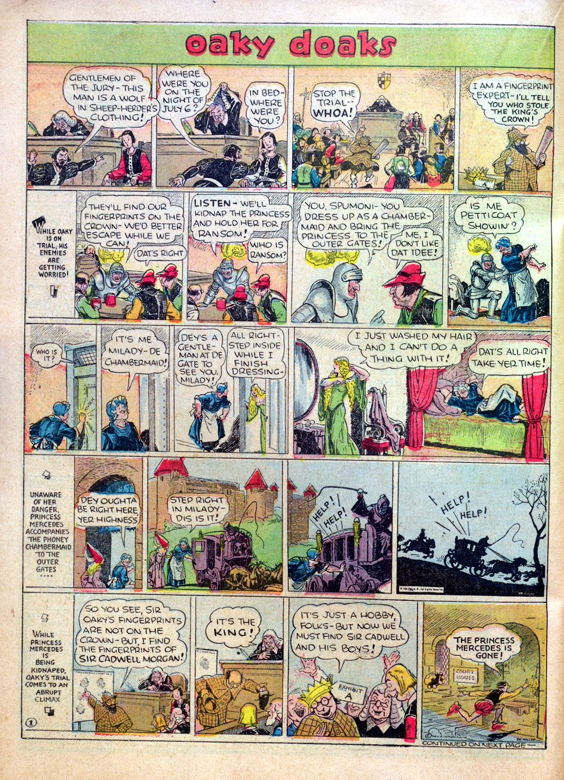 Read online Famous Funnies comic -  Issue #30 - 40