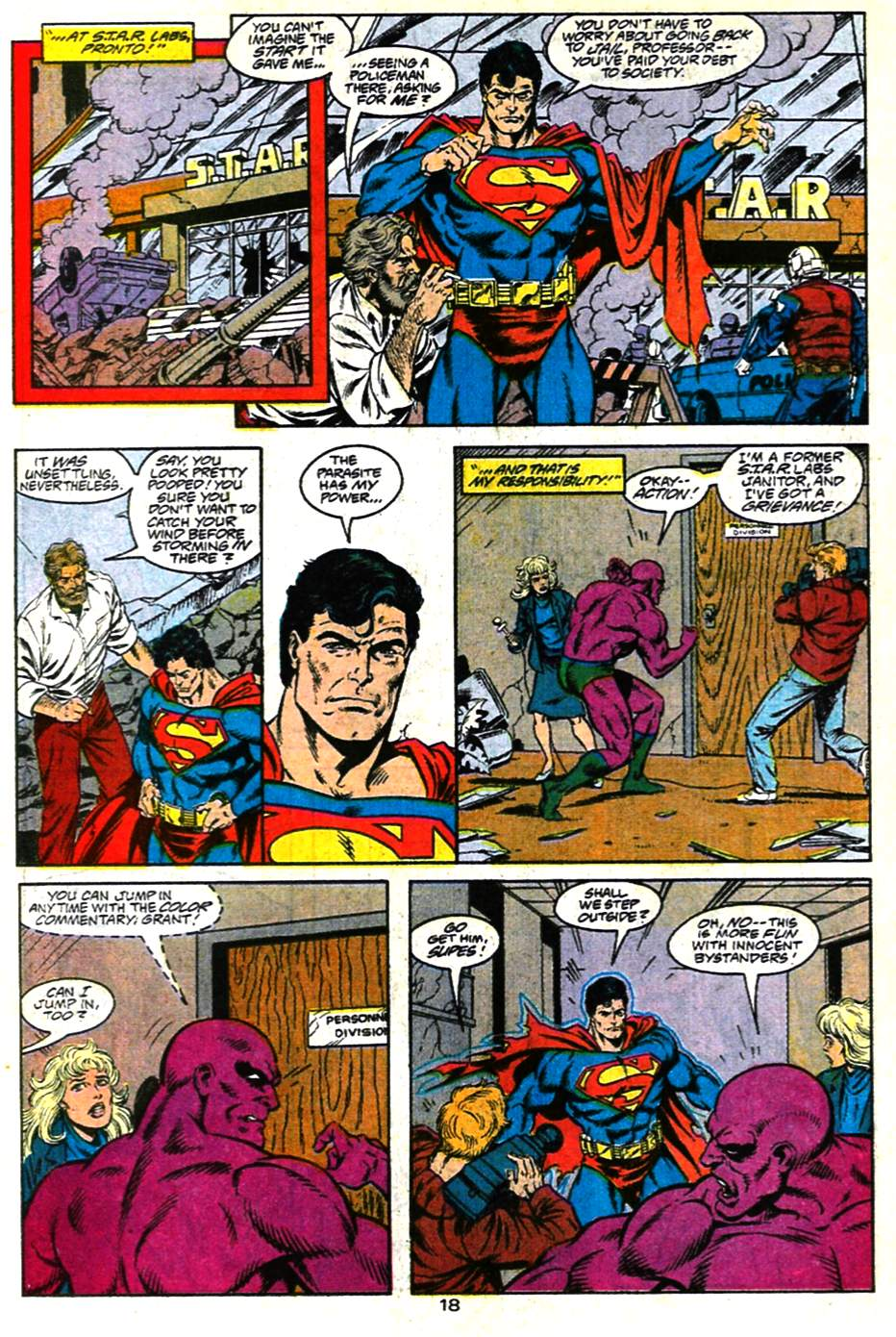 Read online Adventures of Superman (1987) comic -  Issue #482 - 19