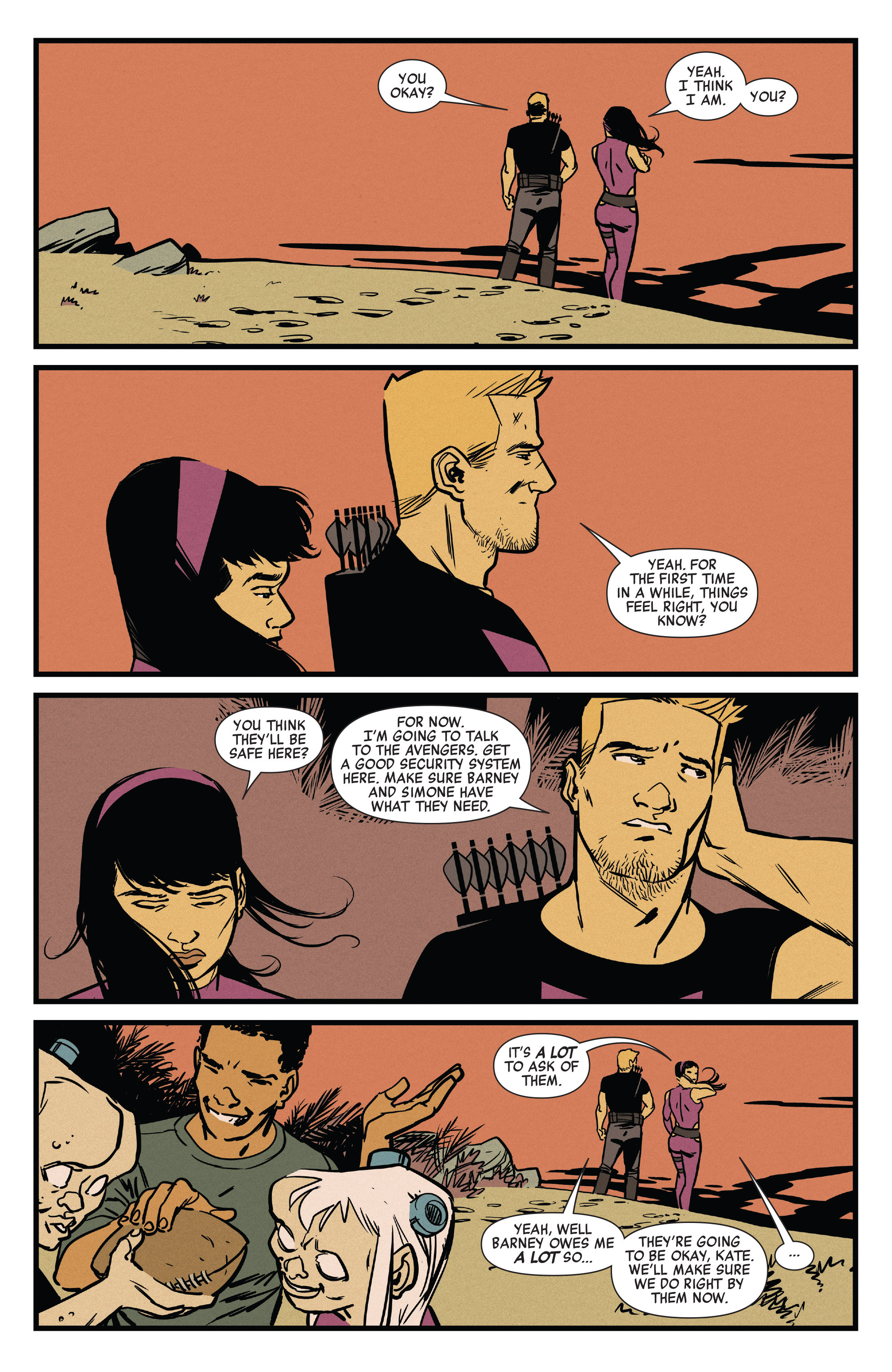 Read online All-New Hawkeye (2016) comic -  Issue #6 - 17