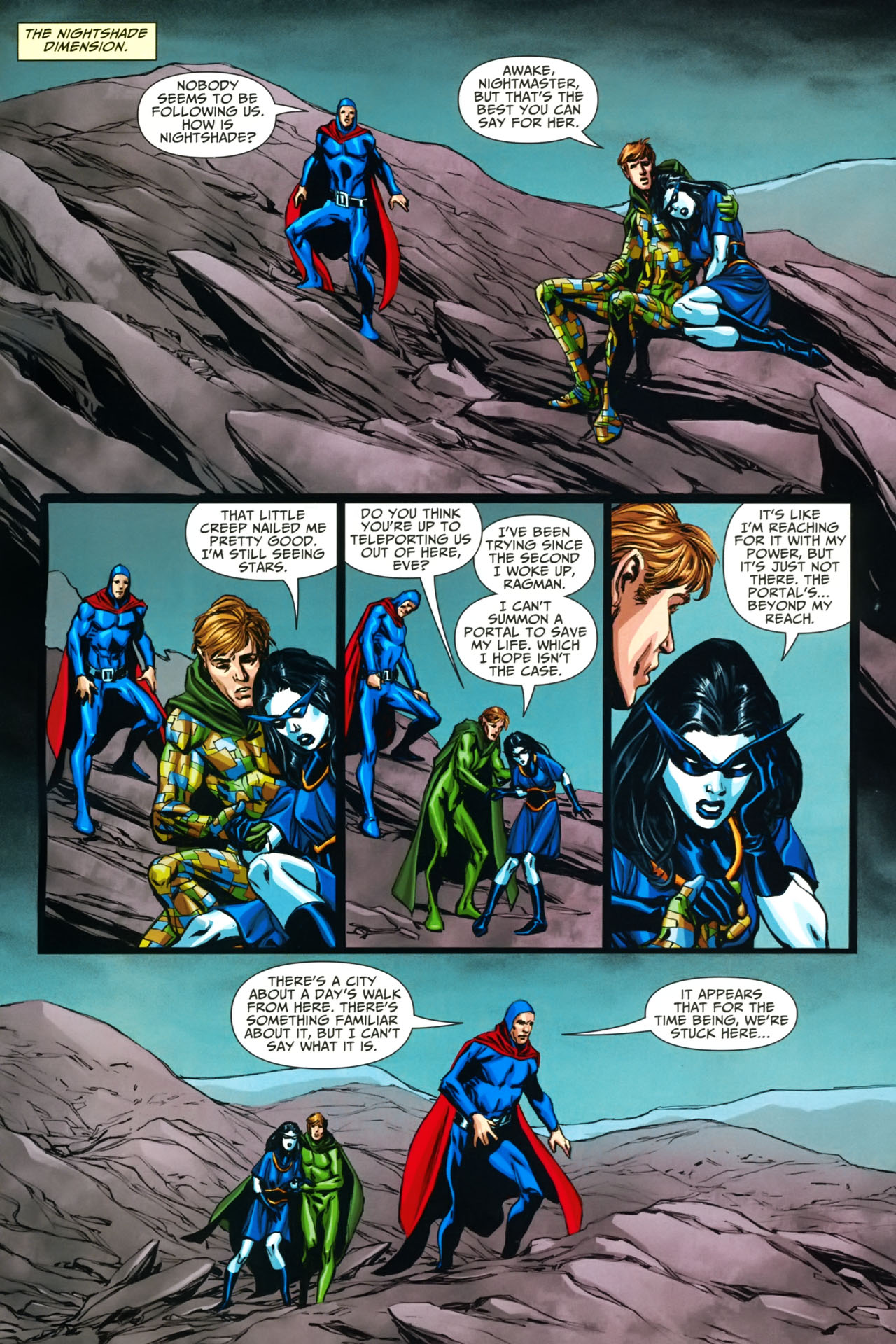 Read online Shadowpact comic -  Issue #19 - 22