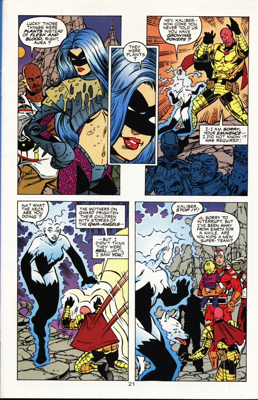 Read online Superboy & The Ravers comic -  Issue #4 - 22