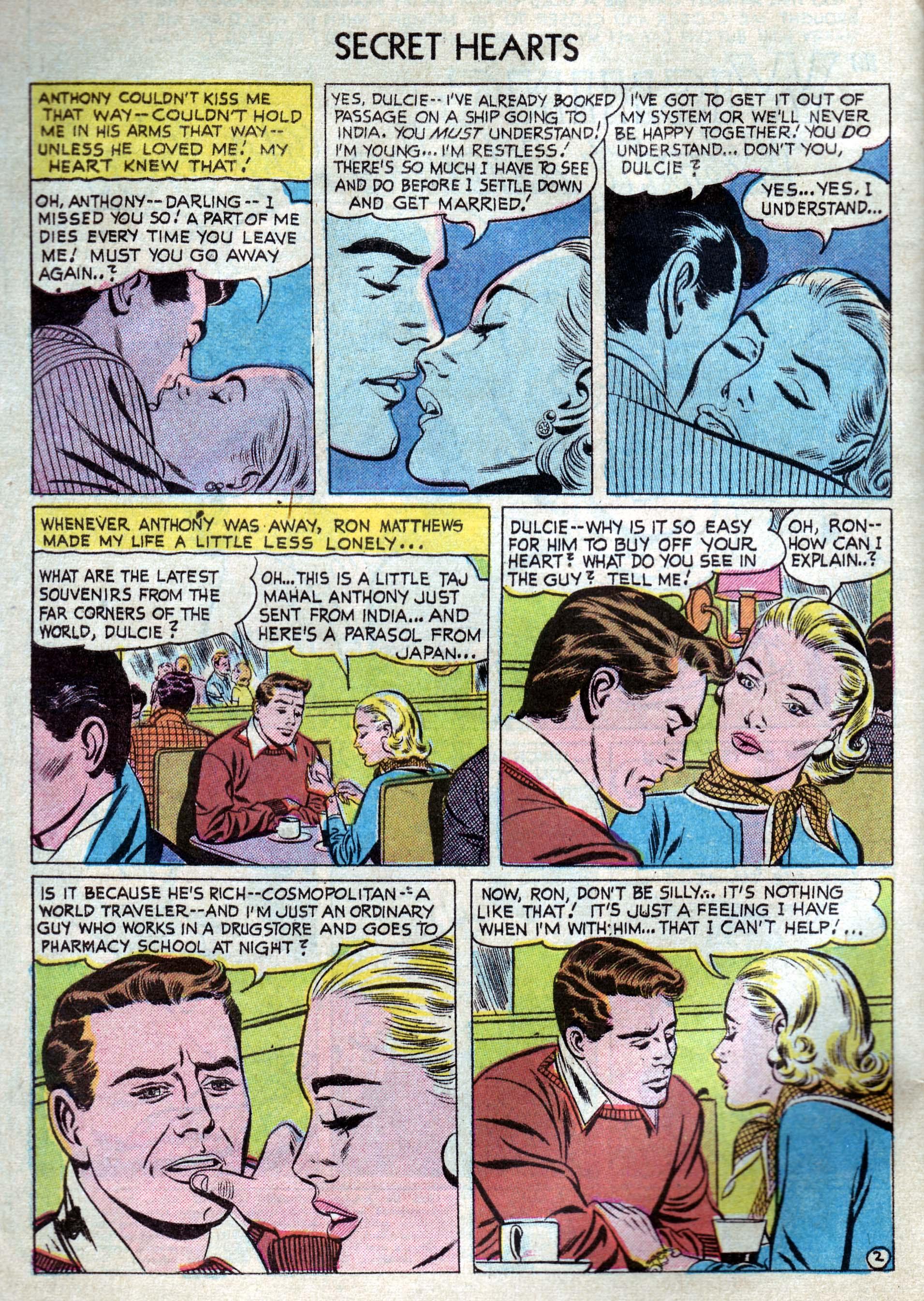 Read online Secret Hearts comic -  Issue #33 - 4