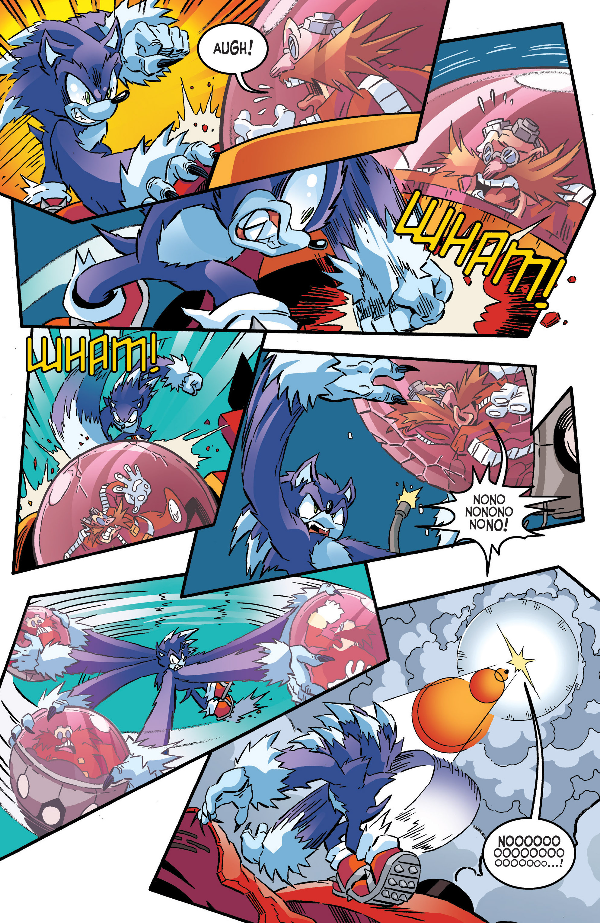 Read online Sonic The Hedgehog comic -  Issue #286 - 14