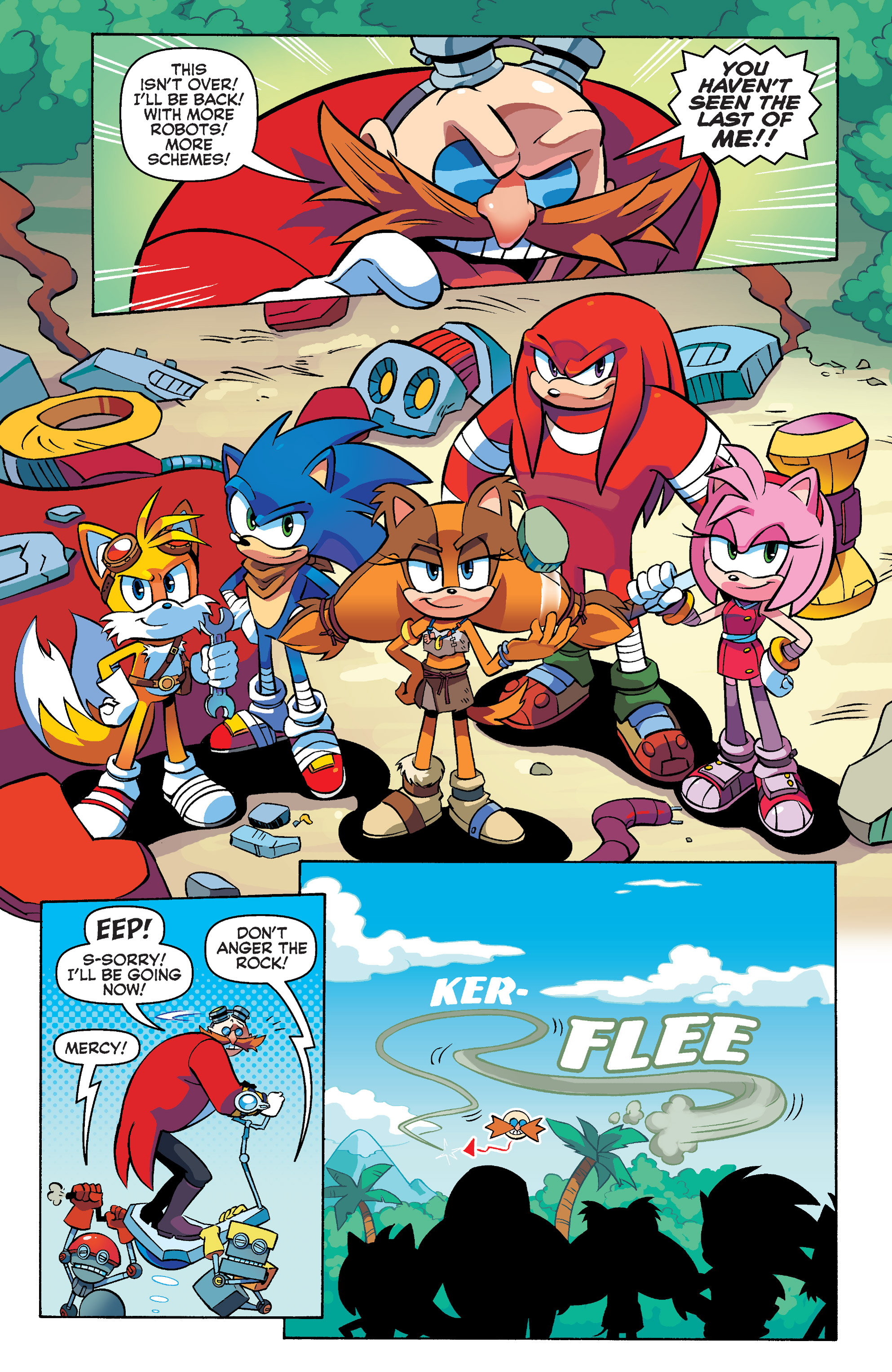 Read online Sonic Boom comic -  Issue #4 - 18