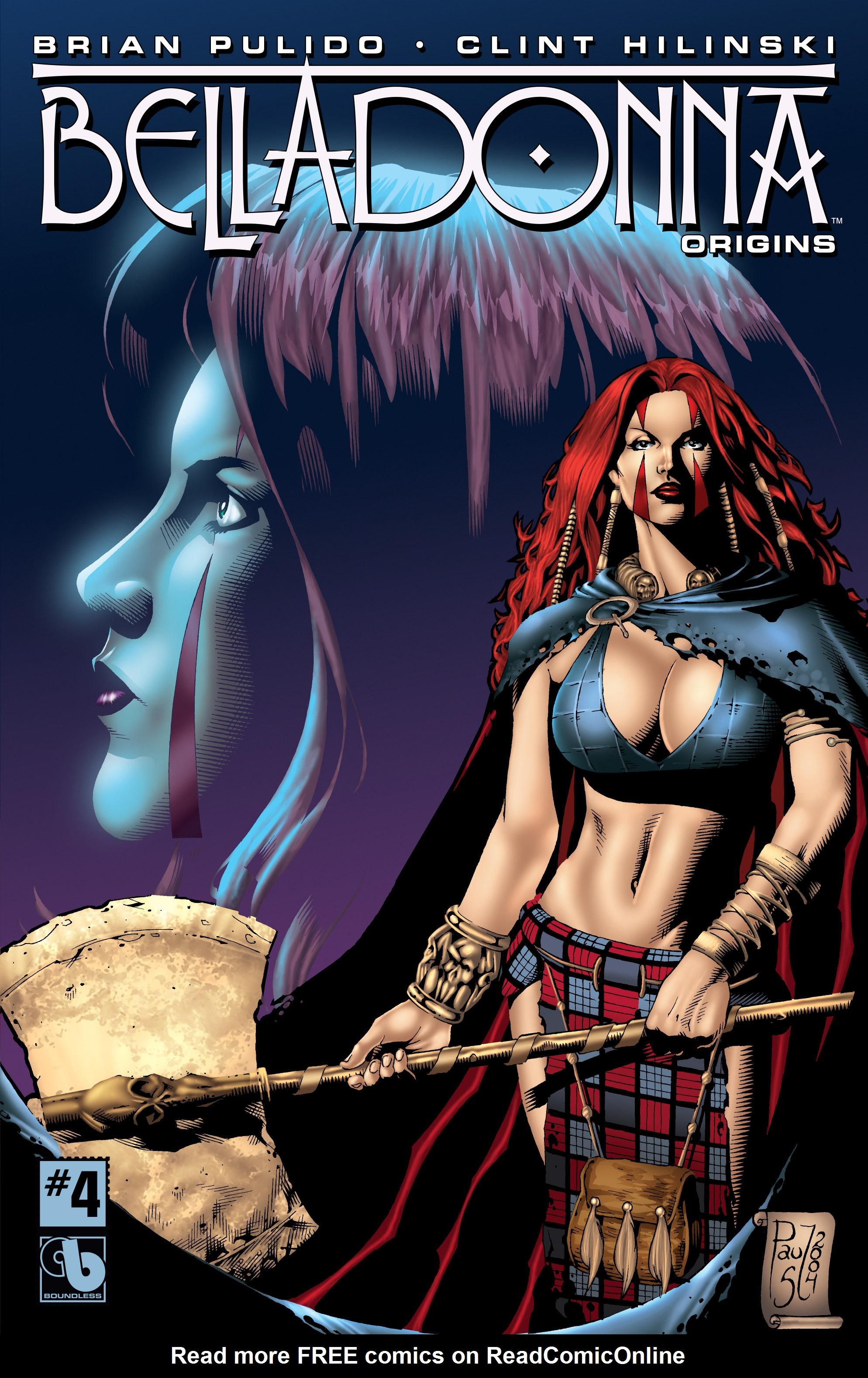Read online Belladonna: Origins comic -  Issue #4 - 1