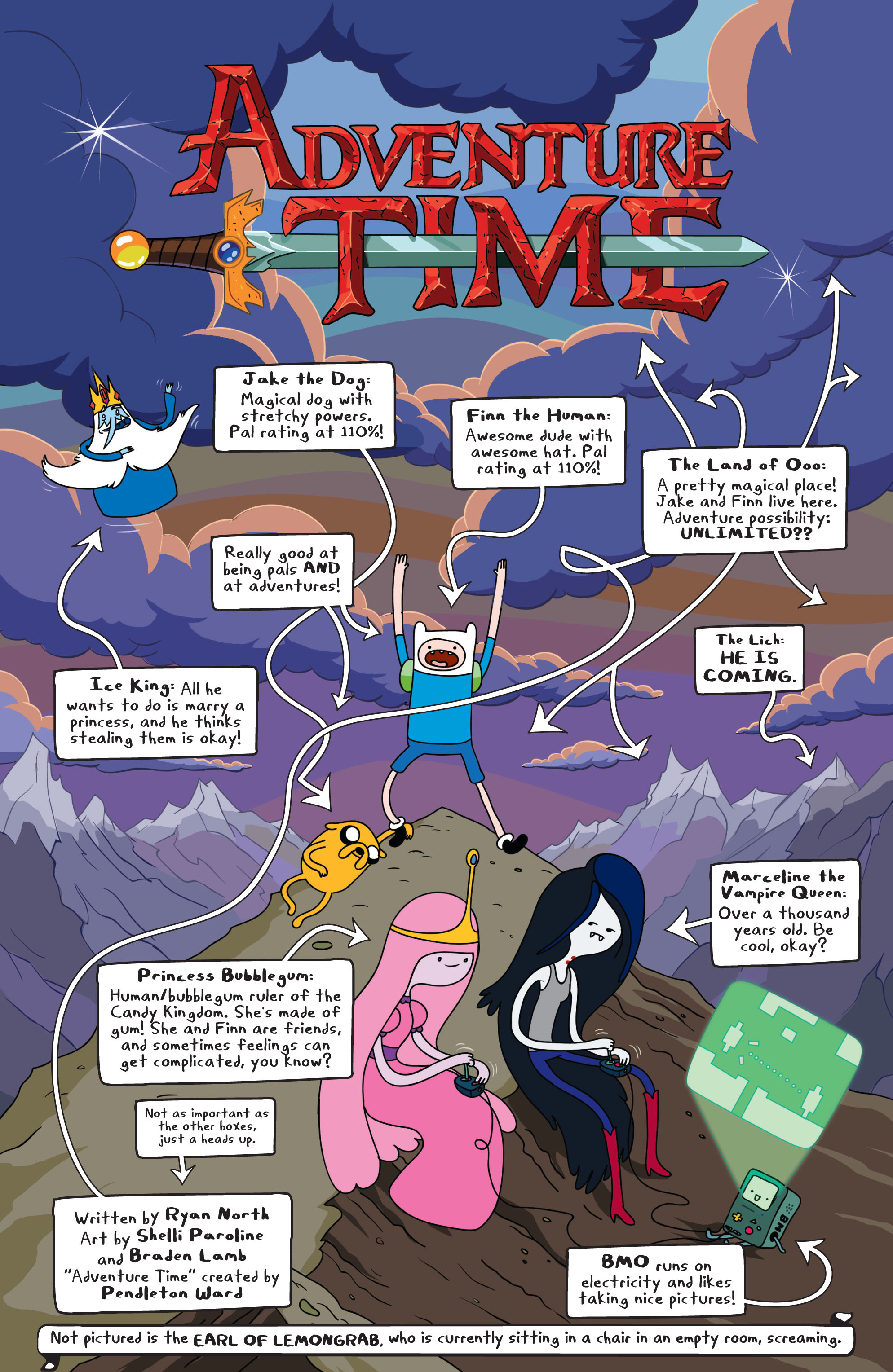Read online Adventure Time comic -  Issue #1 - 8