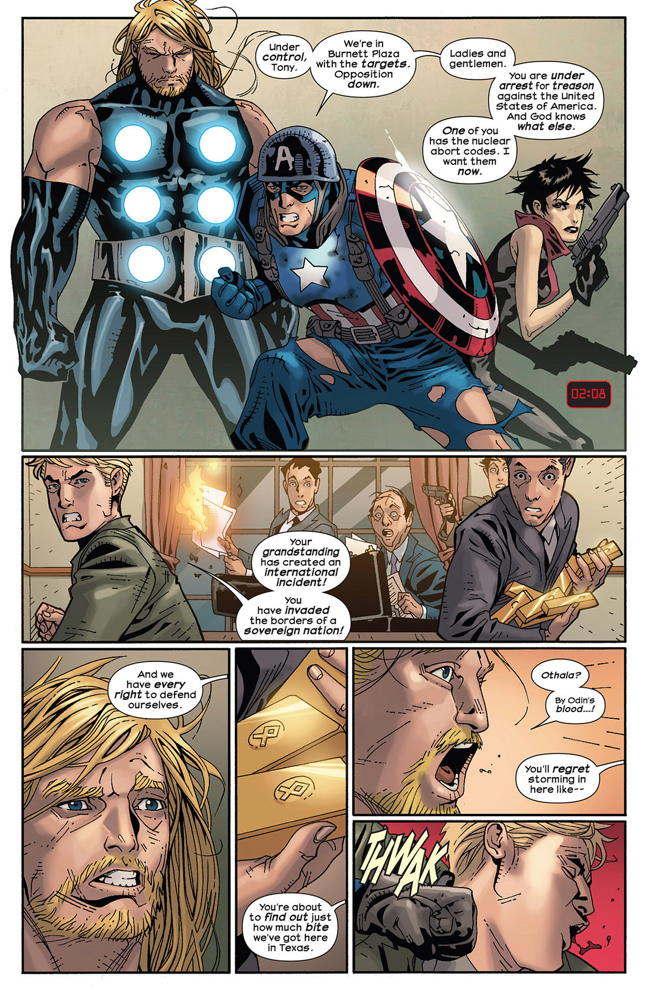 Read online Ultimate Comics Ultimates comic -  Issue #14 - 17