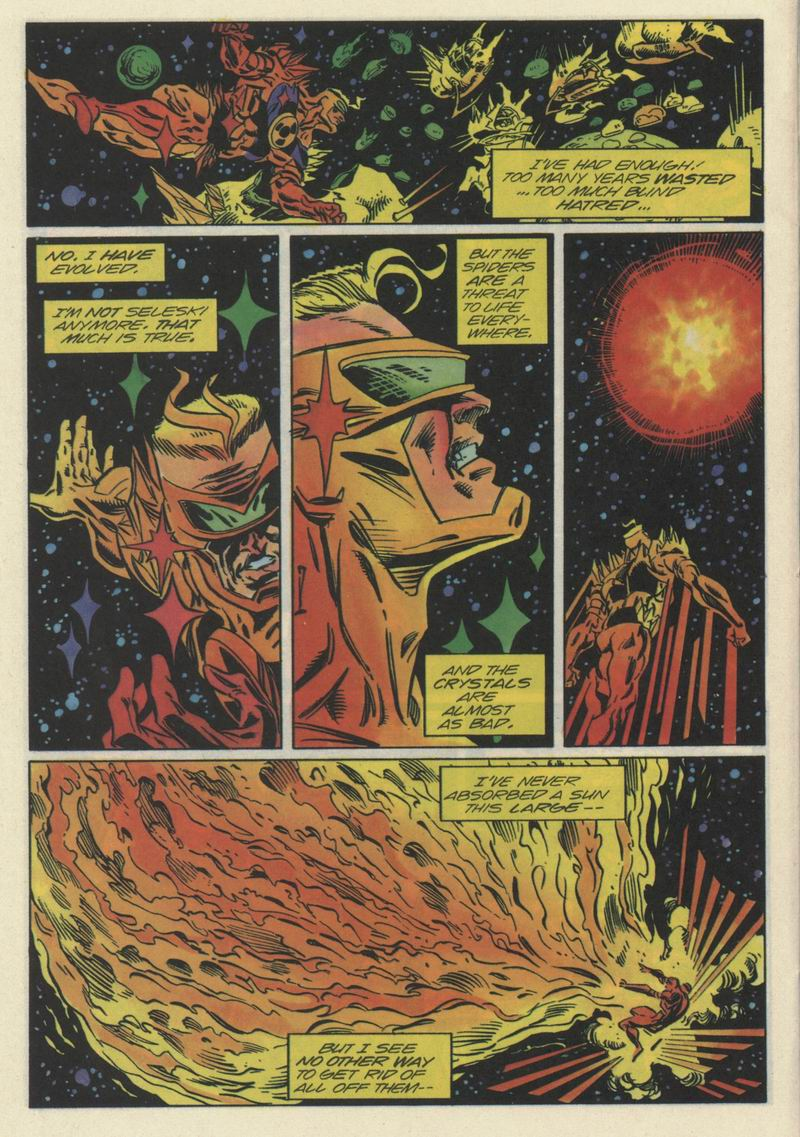 Read online Solar, Man of the Atom comic -  Issue #35 - 19