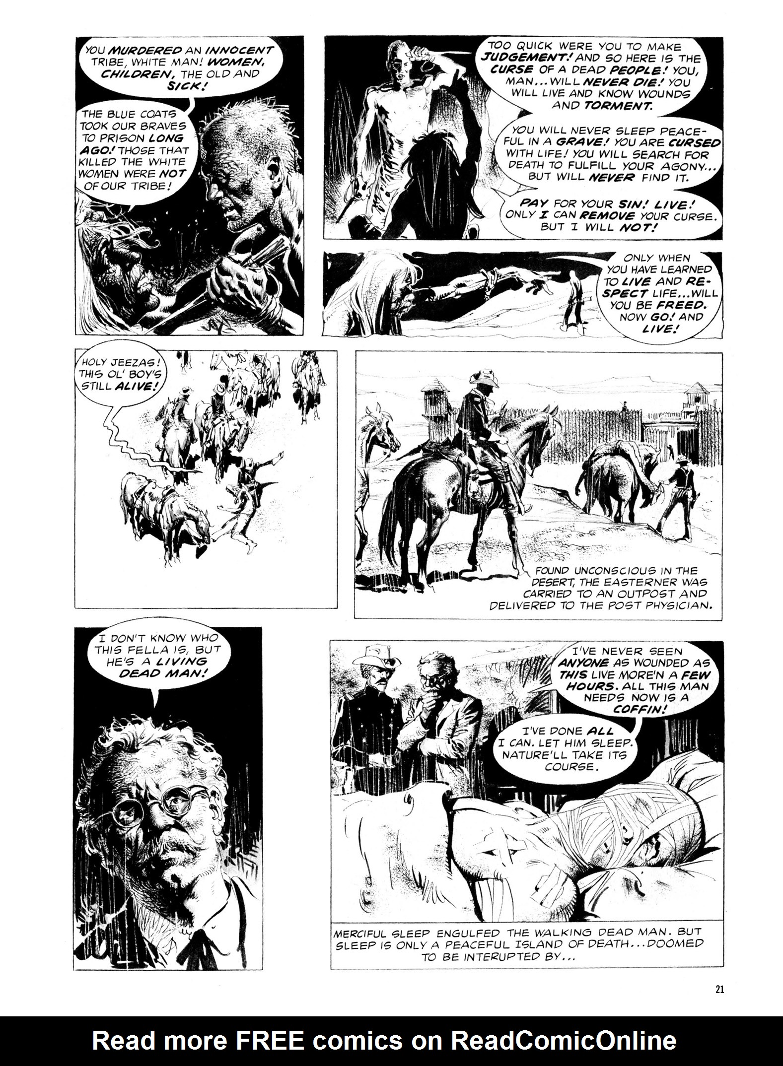 Read online Eerie Archives comic -  Issue # TPB 13 - 22