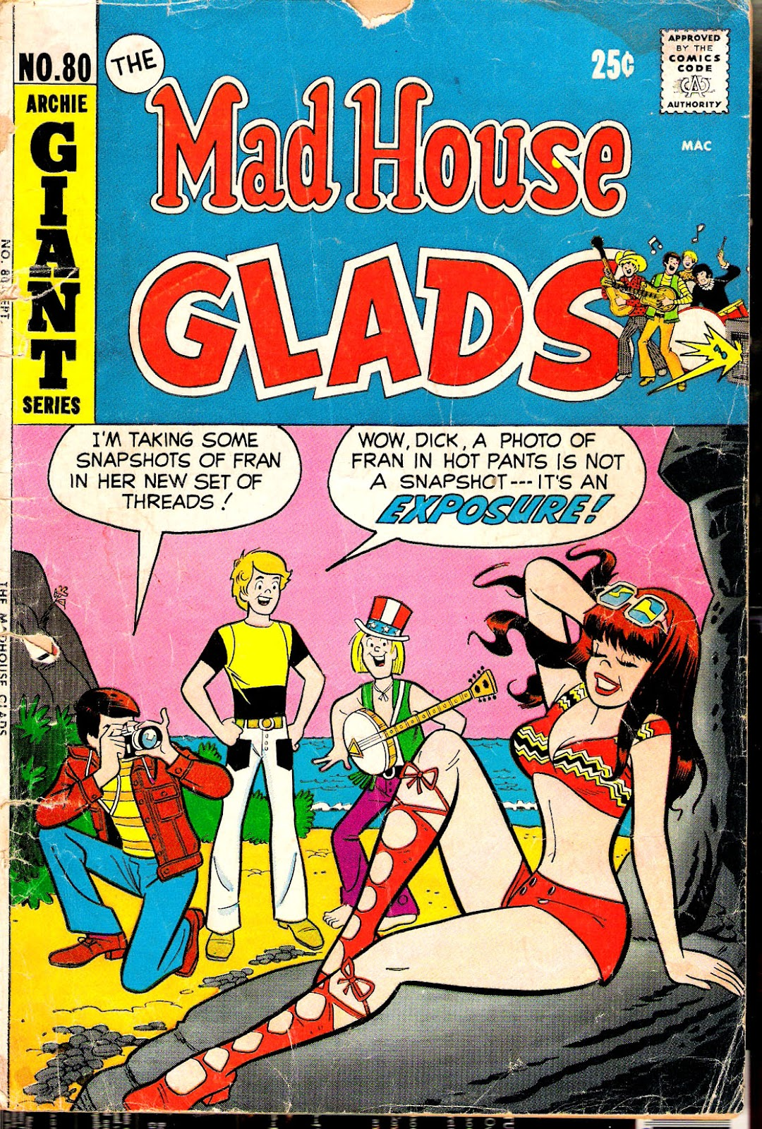 Read online The Mad House Glads comic -  Issue #80 - 1