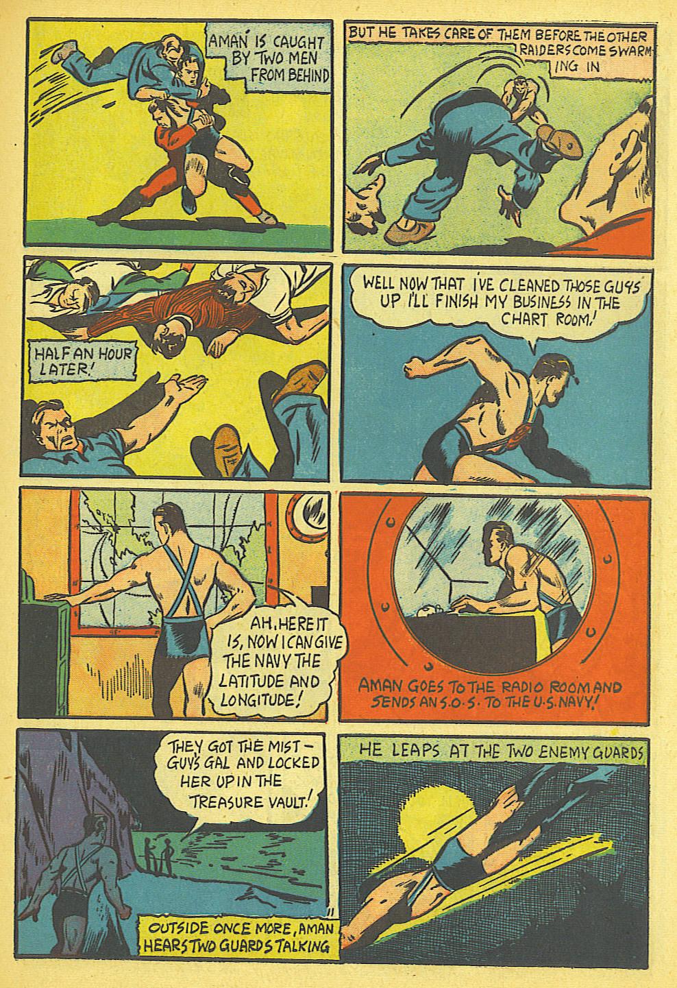 Read online Amazing Man Comics comic -  Issue #19 - 13