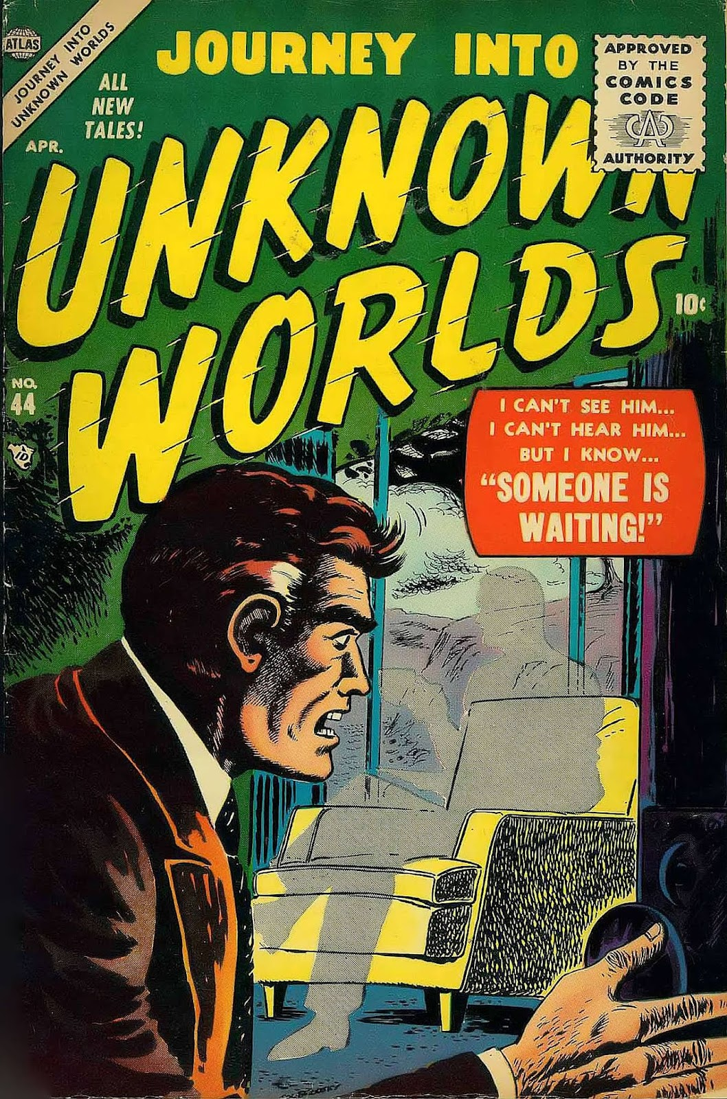 Journey Into Unknown Worlds (1950) issue 44 - Page 1
