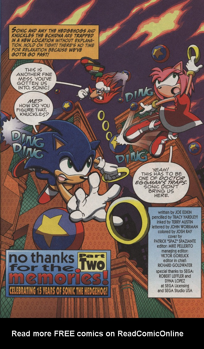 Read online Sonic X comic -  Issue #11 - 3